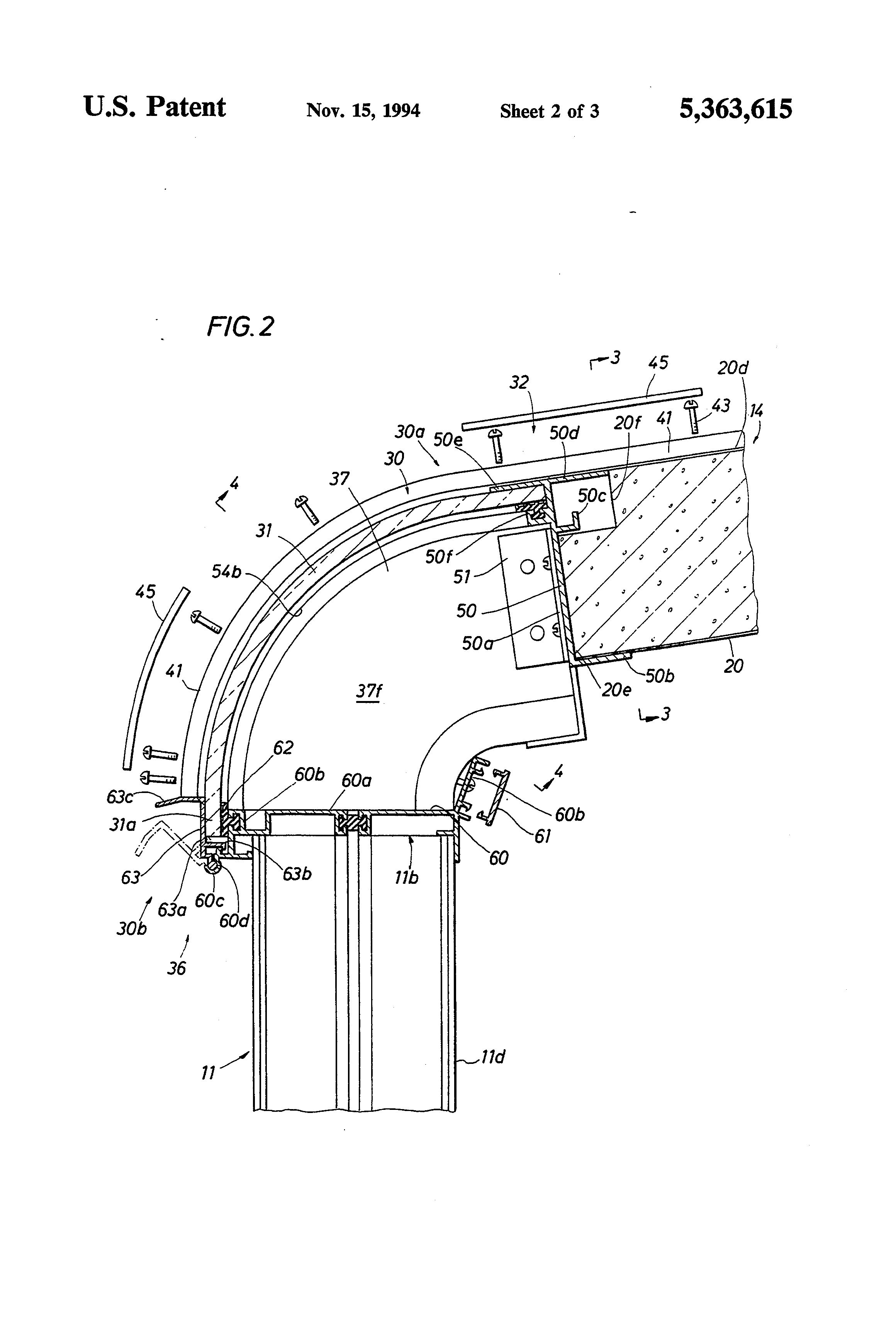 Energy-Effcient sunroom patent