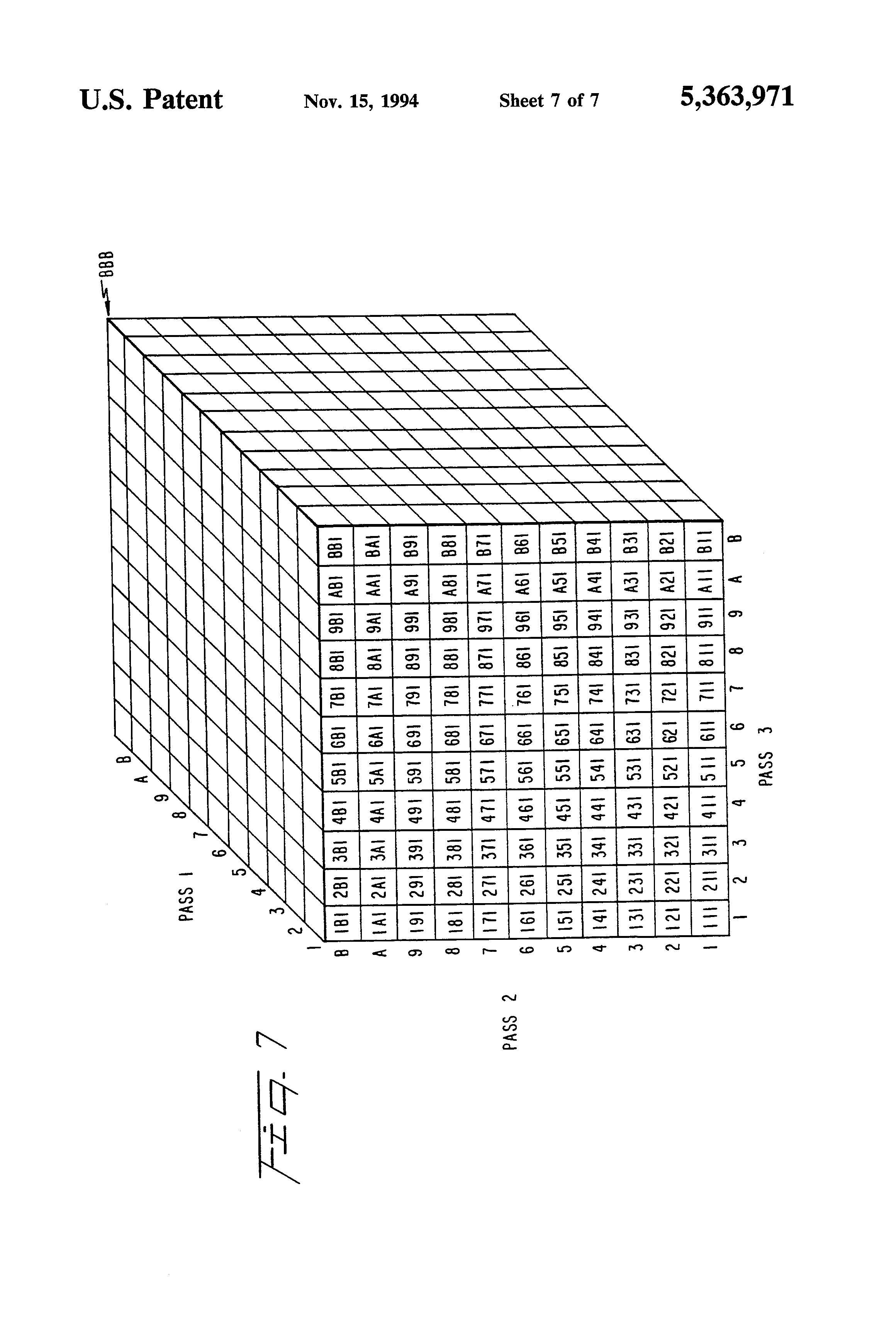 patent us5363971 - automatic carrier sequence bar code sorter