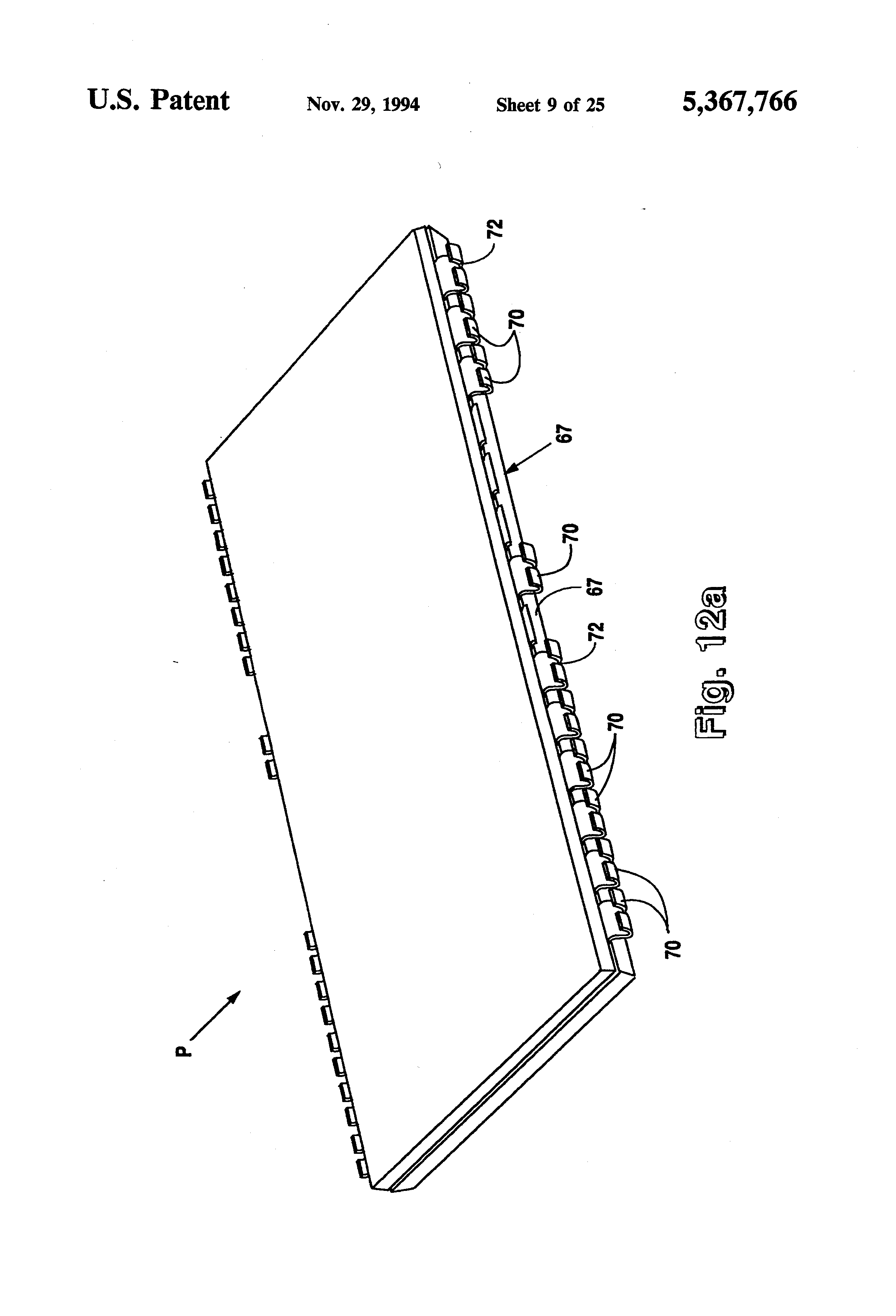 Patent Us5367766 Ultra High Density Integrated Circuit Packages Picture Of How To Waterproof Boards Epoxy Method Drawing