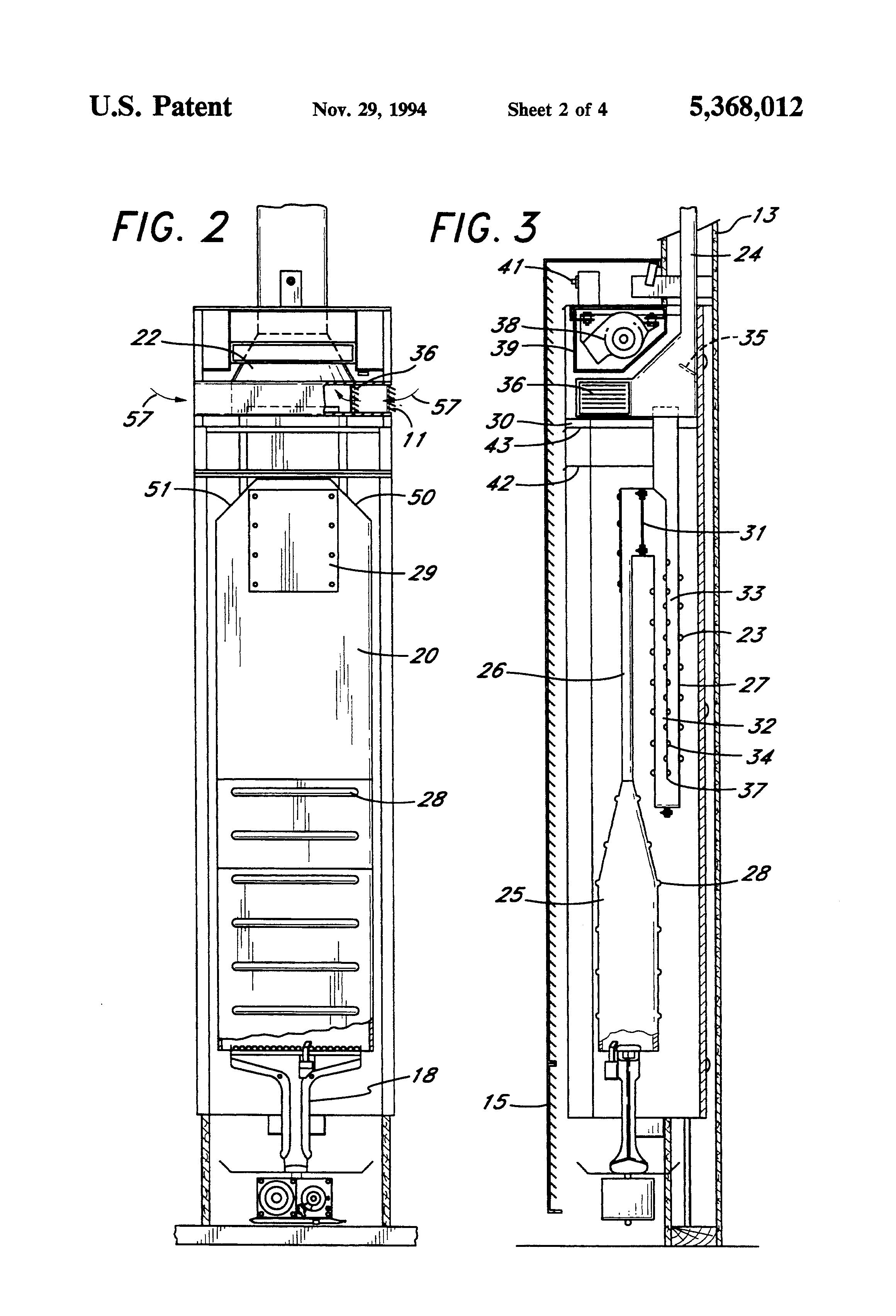 patent us5368012 - wall furnace with side vented draft hood