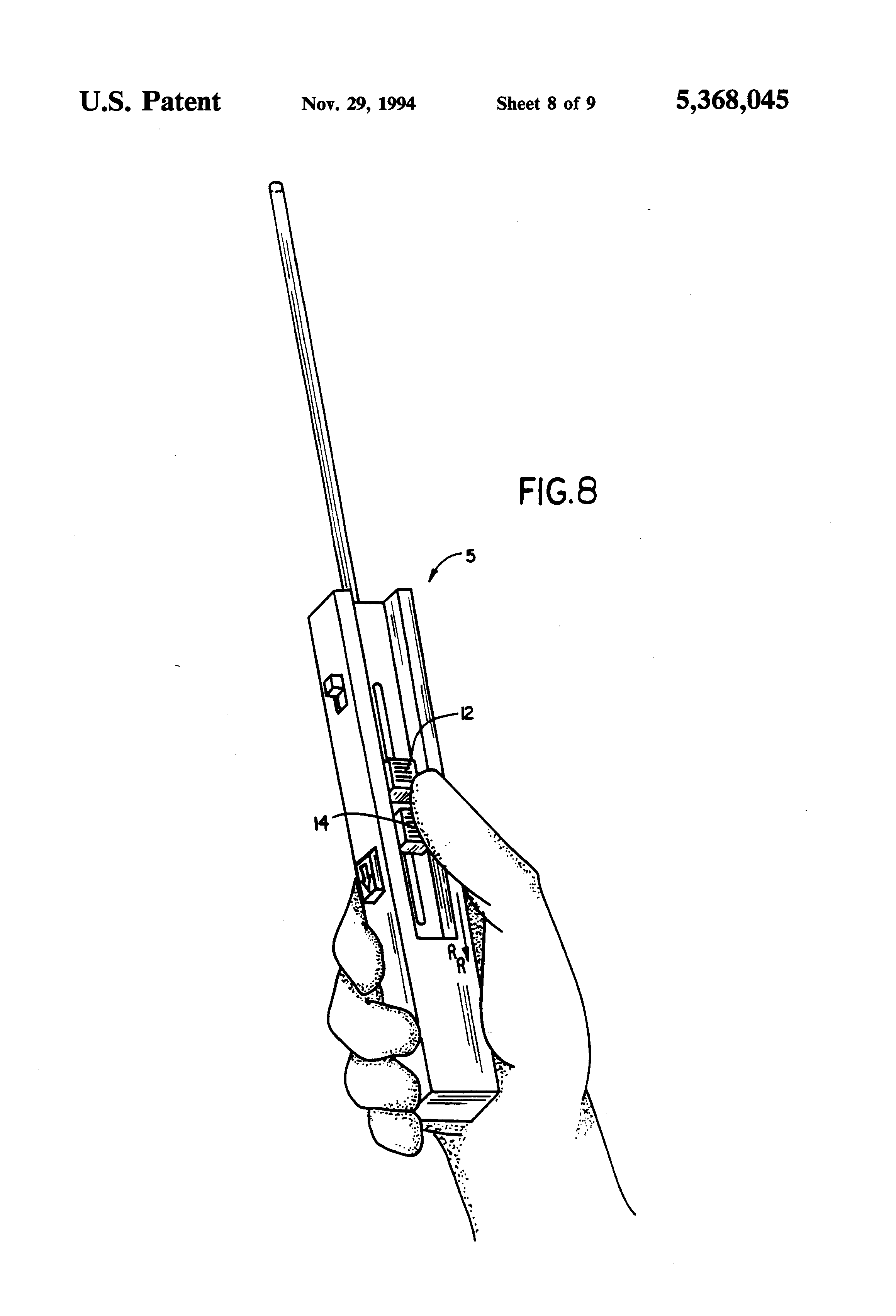 patent us5368045 - biopsy needle instrument