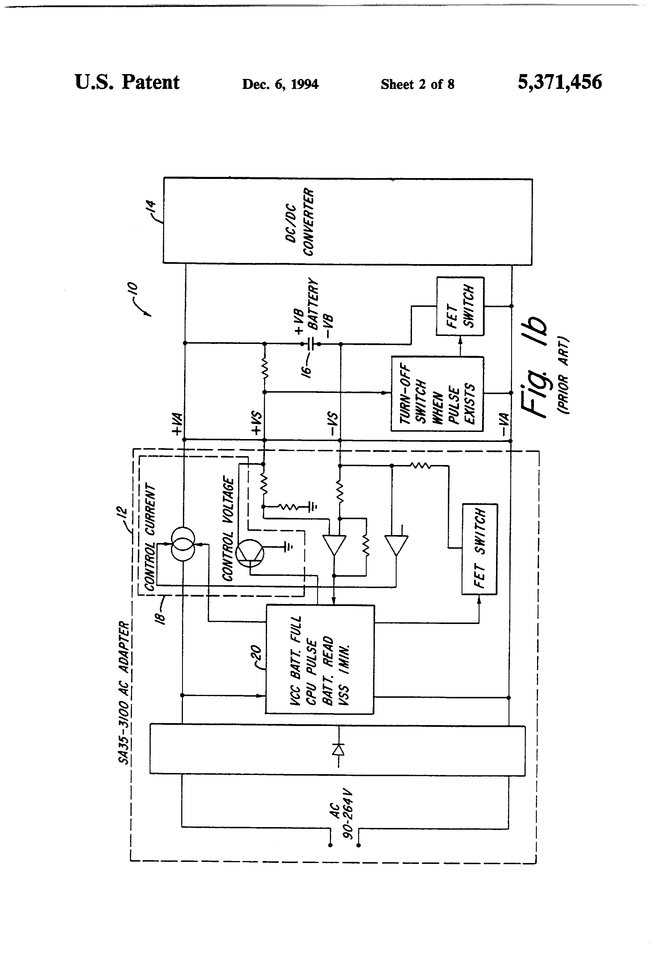 Patent Us5371456 Power Supply And Battery Charging System Google Supplies Gt Chargers Low Voltage Dc Charger Circuit Drawing