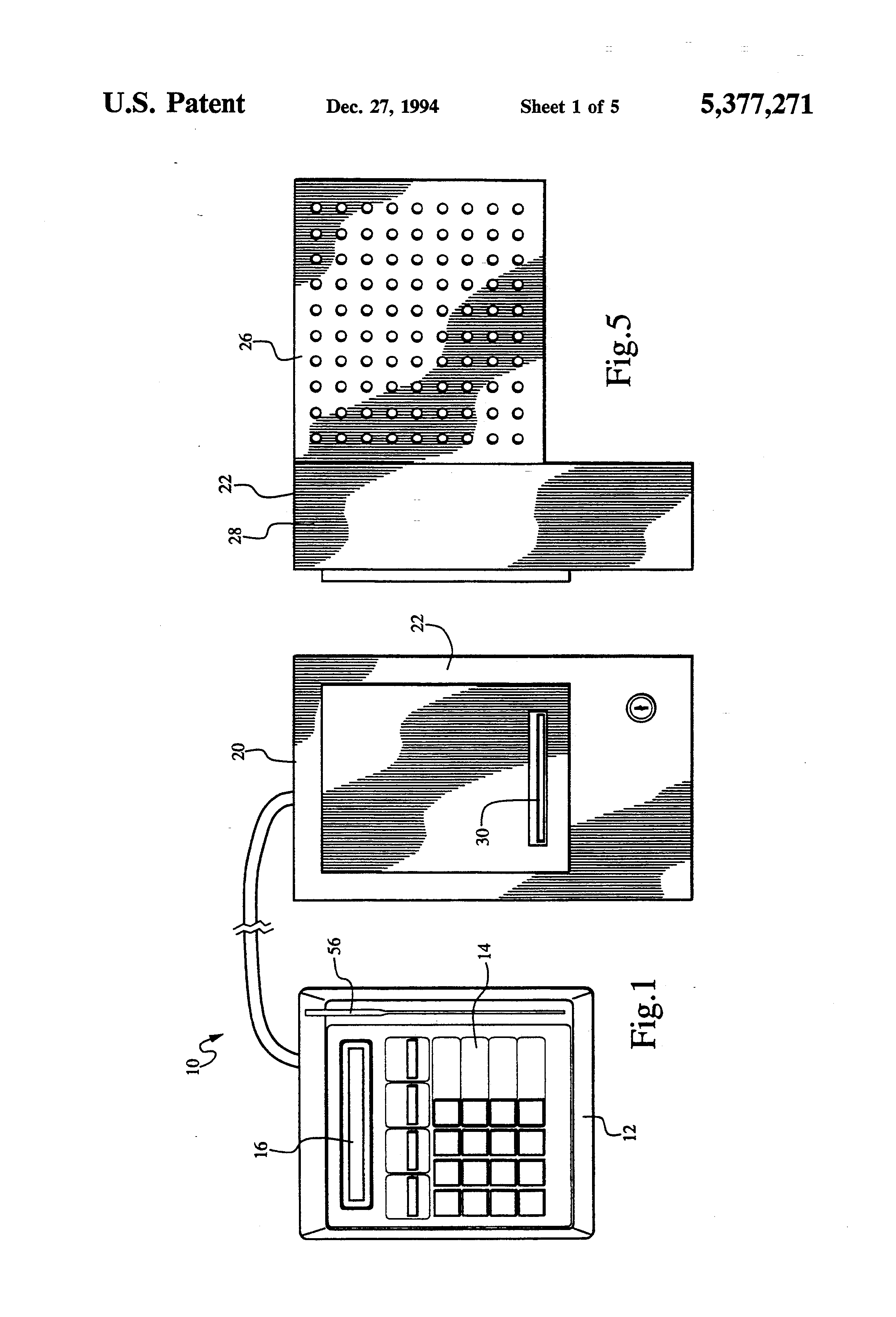 patent us5377271 apparatus for dispensing money orders google patents