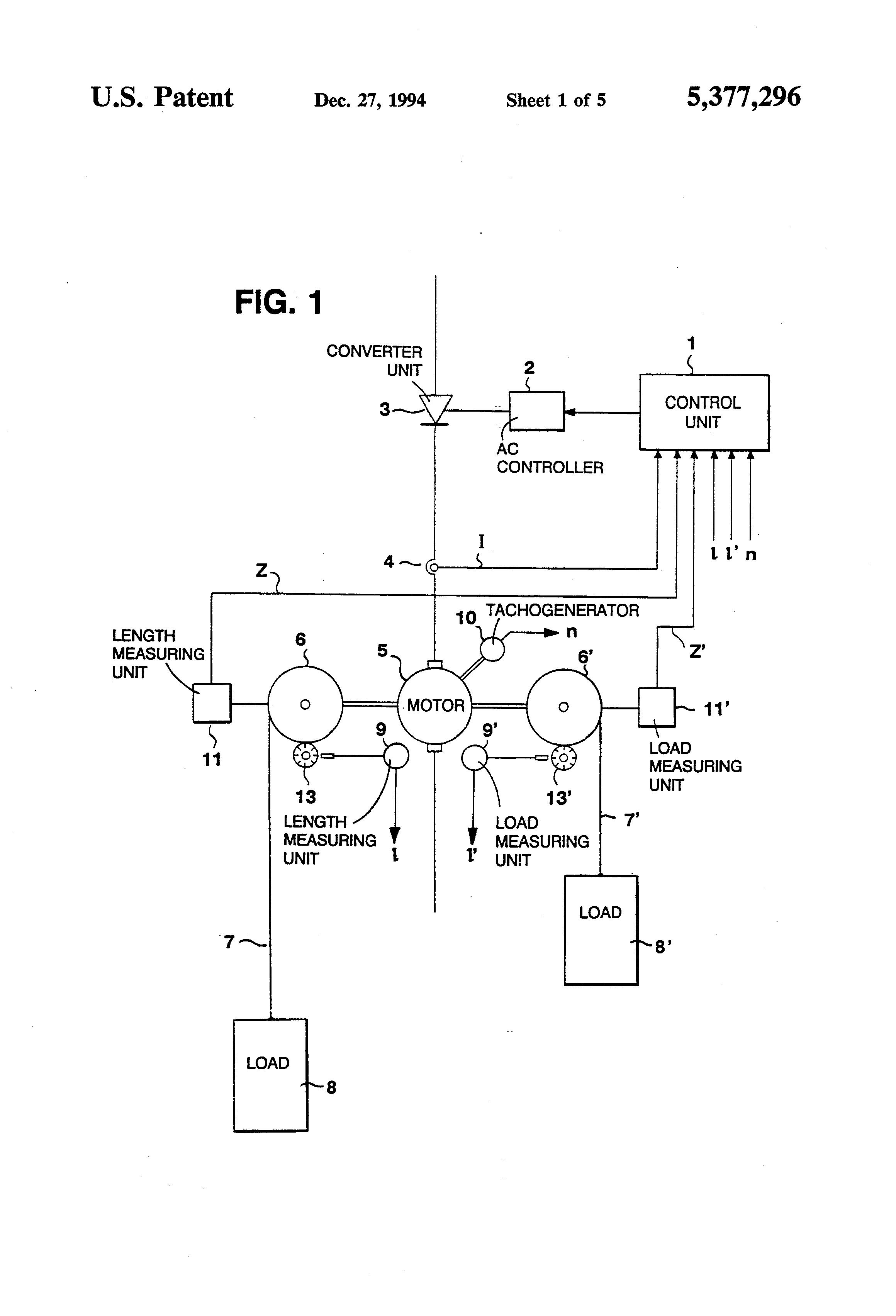 Patent Us5377296 Mine Winder Or Hoist Drum Electric