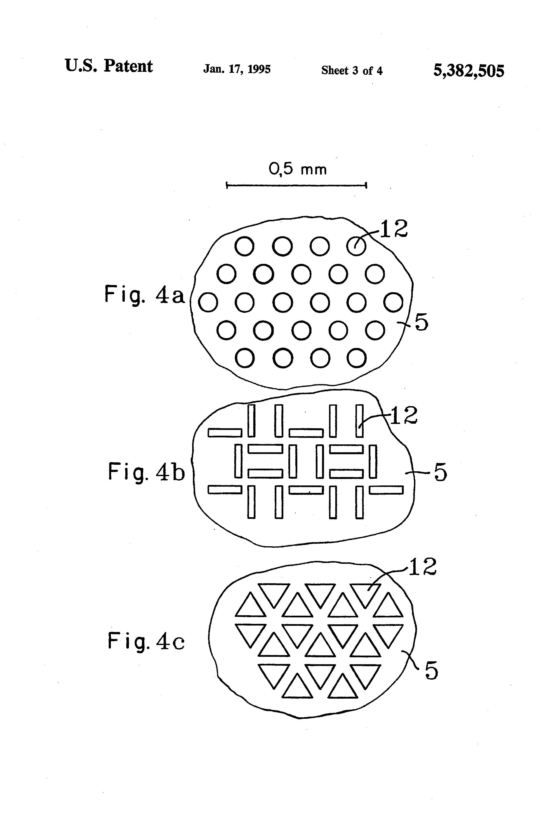 patent us5382505