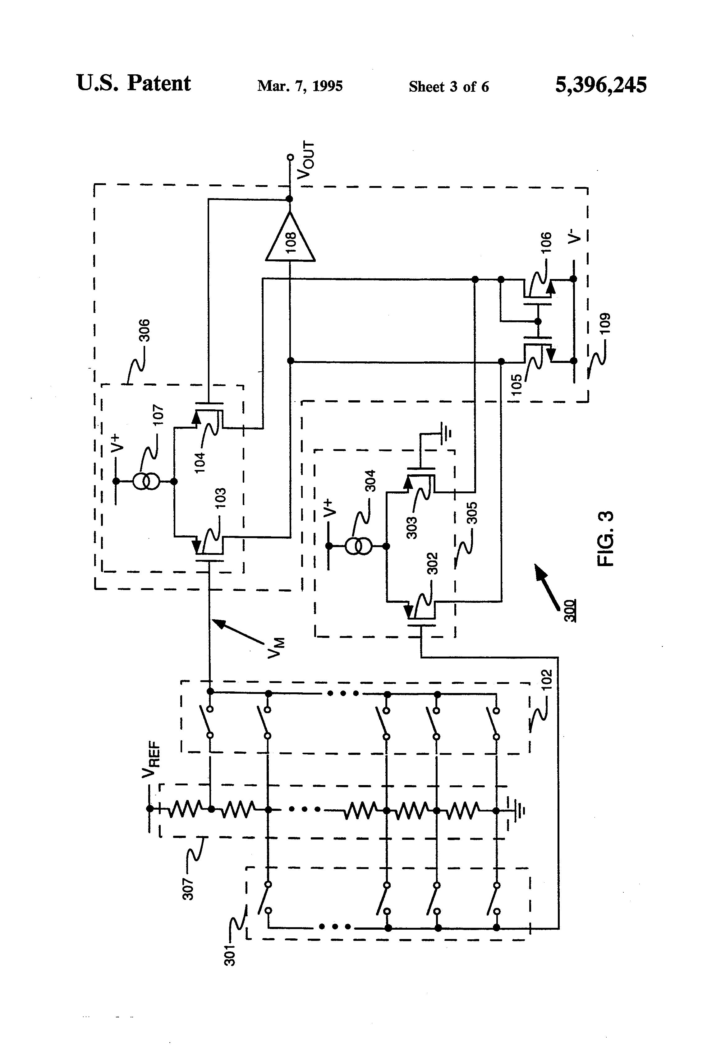 patent us5396245 - digital to analog converter