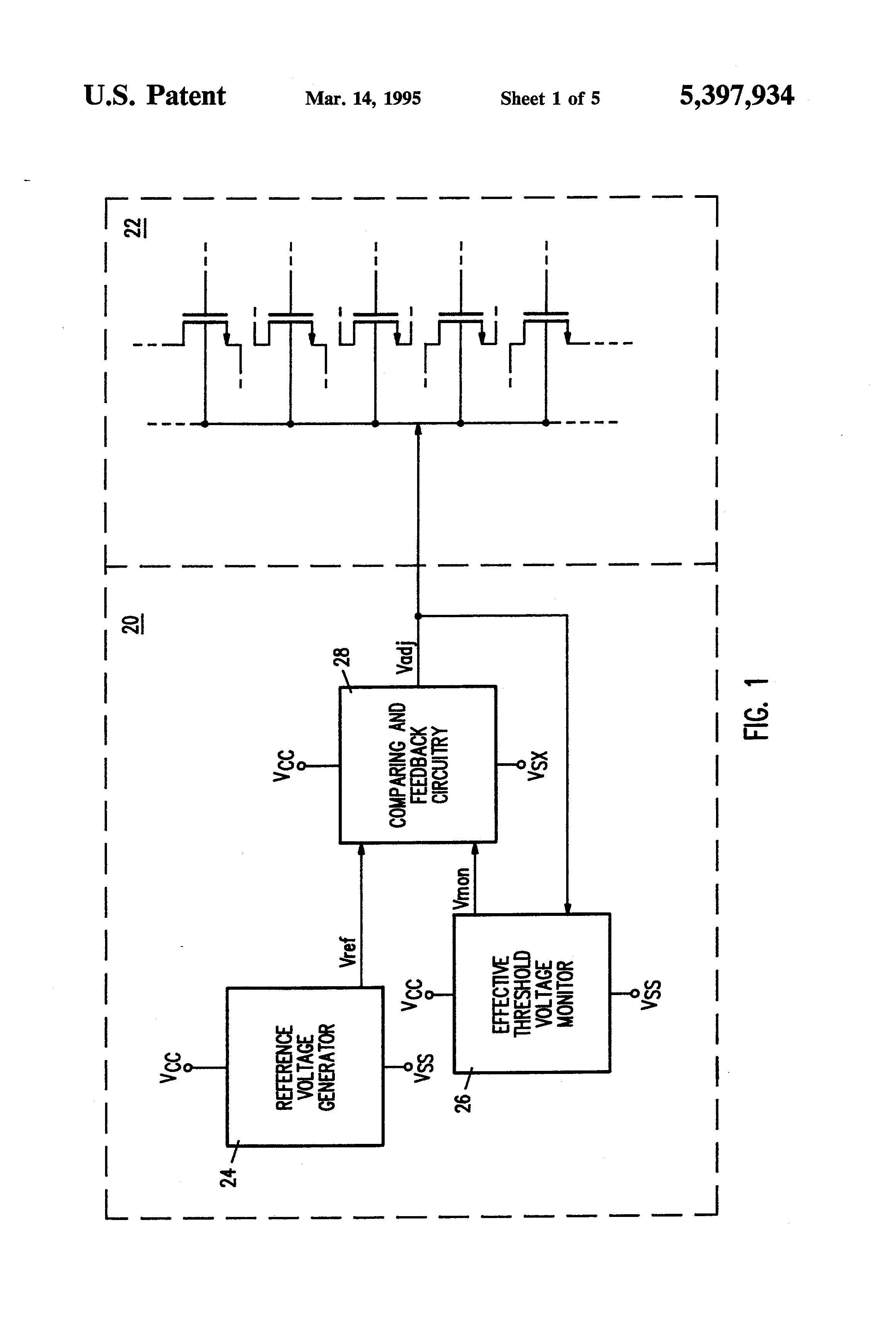 Patent Us5397934 Apparatus And Method For Adjusting The Threshold Voltage Series Ss Parallel Circuits Drawing