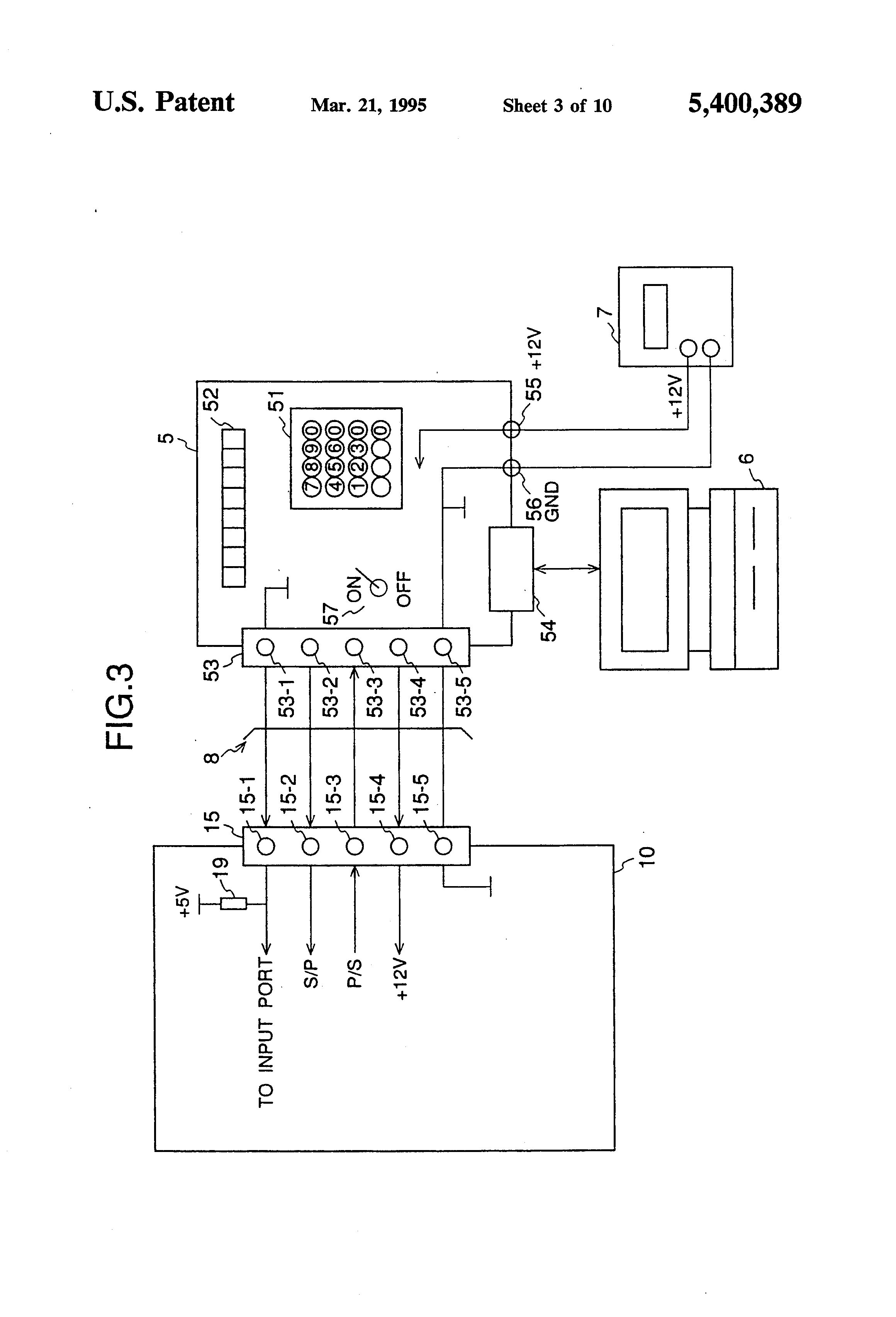 Patent US5400389 - System for rewriting information in