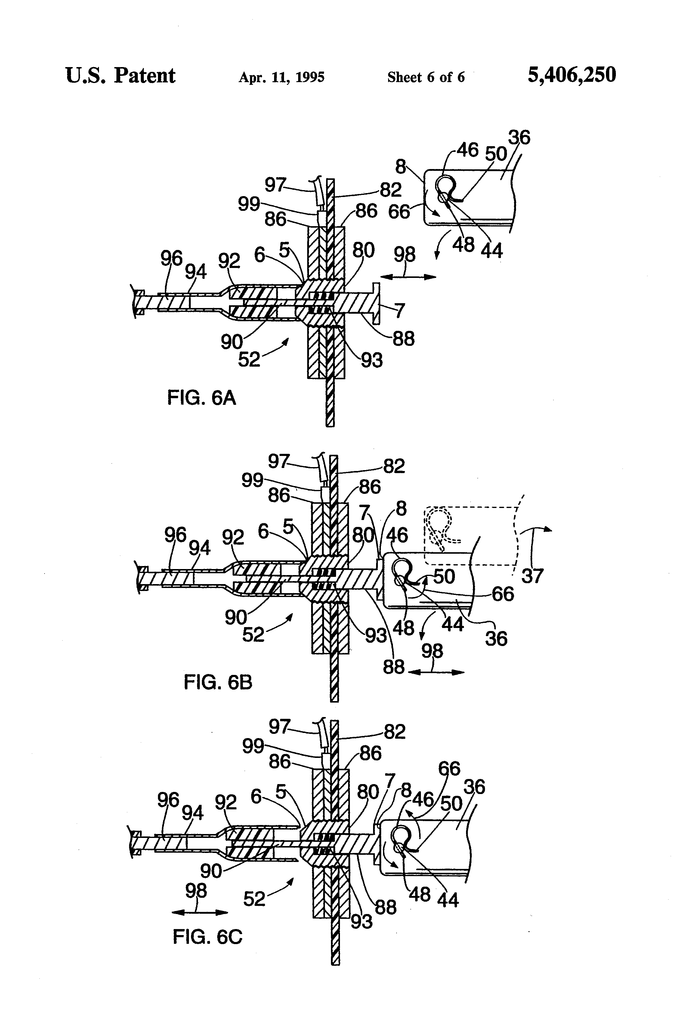 Patent Us5406250 Apparatus For Operating A School Bus Safety Transpec Wiring Diagram Sign Drawing