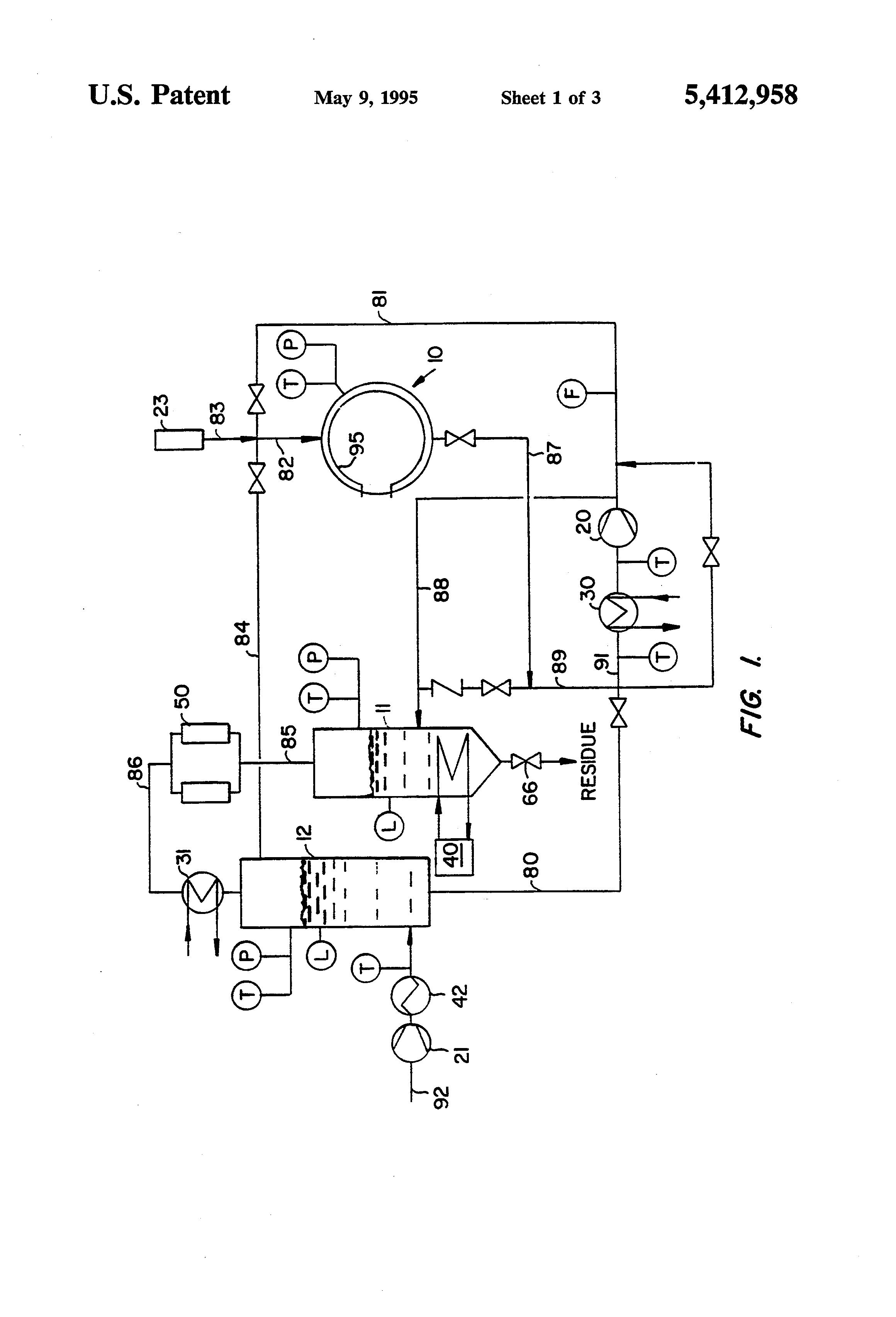 Patent US Liquid supercritical carbon dioxide dry