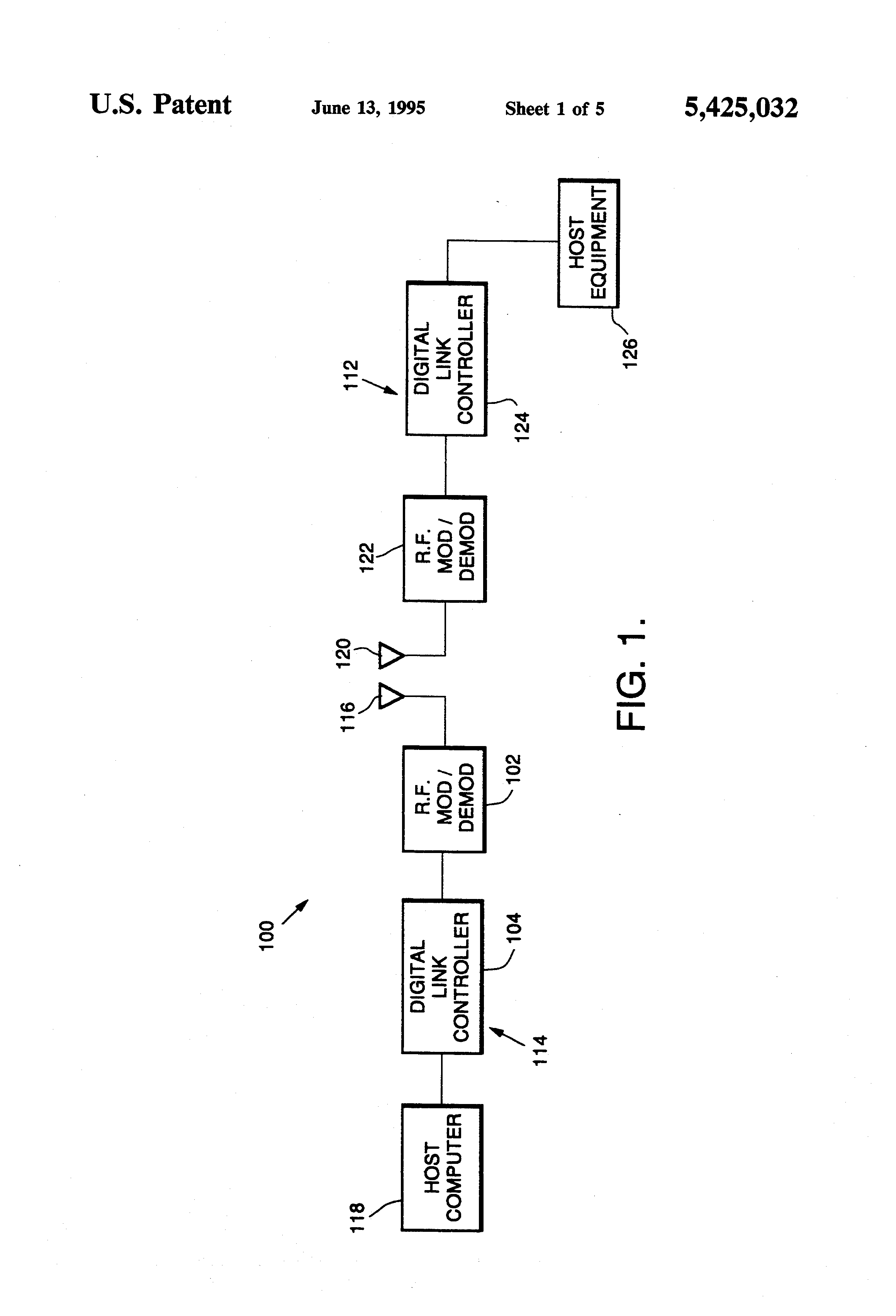 Highfrequency Oscillator Circuit Diagram Tradeoficcom Simple Voltage Controlled Patent Us5425032 Tdma Network And Protocol For Reader Transponder