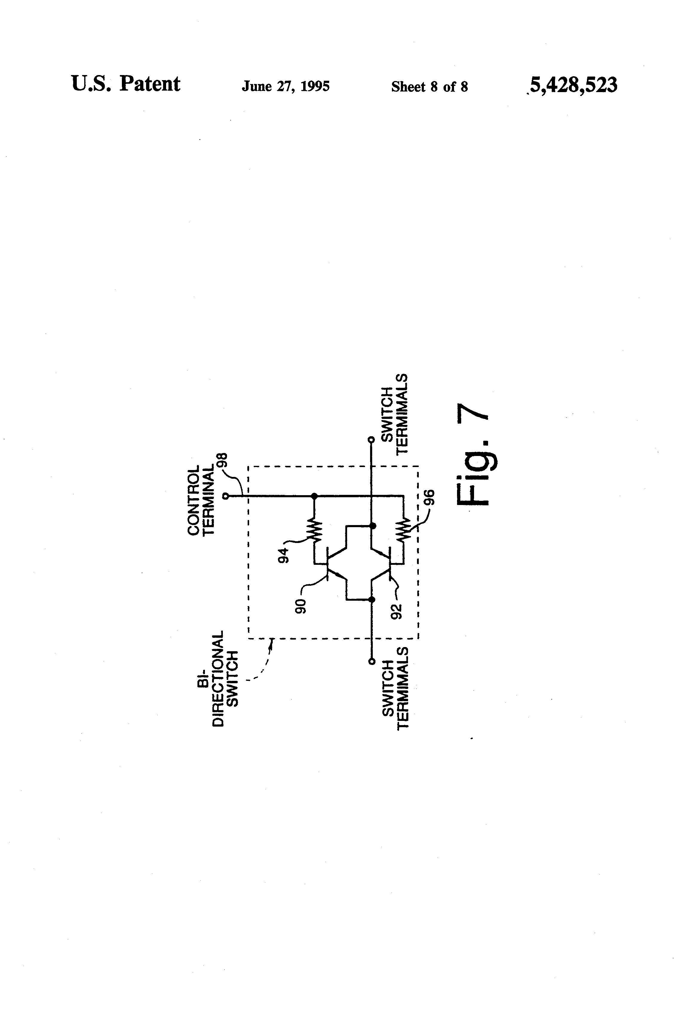 patent us5428523