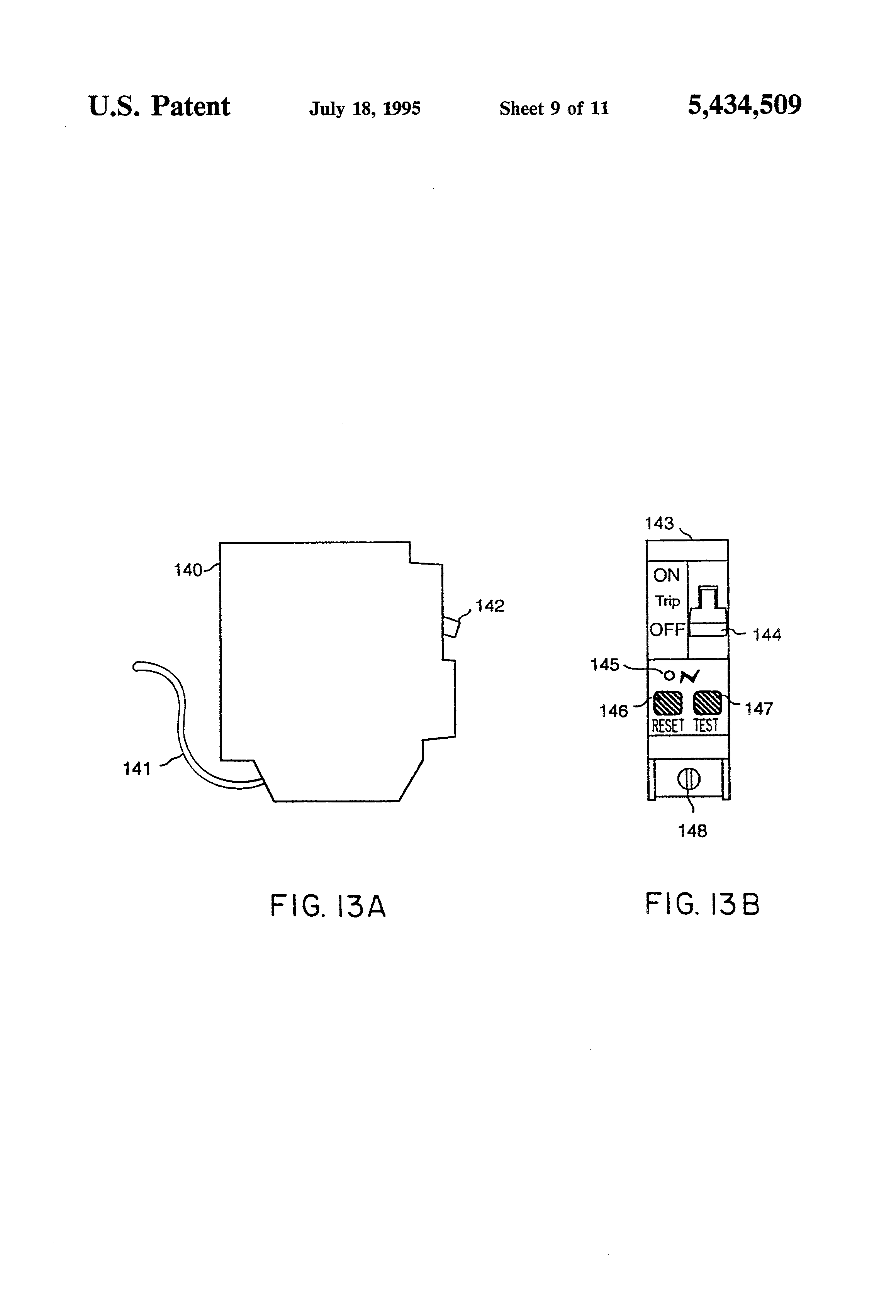 Us5434509 Method And Apparatus For Detecting Arcing Alternating Current Diagram B The Produced In Patent Drawing
