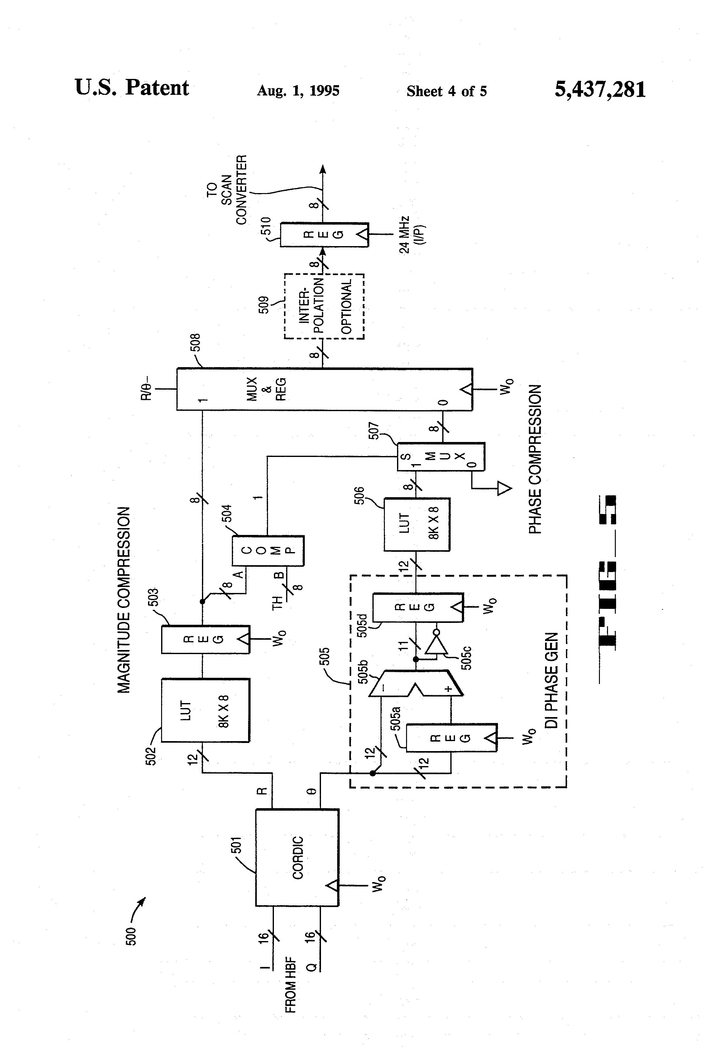 patent us5437281
