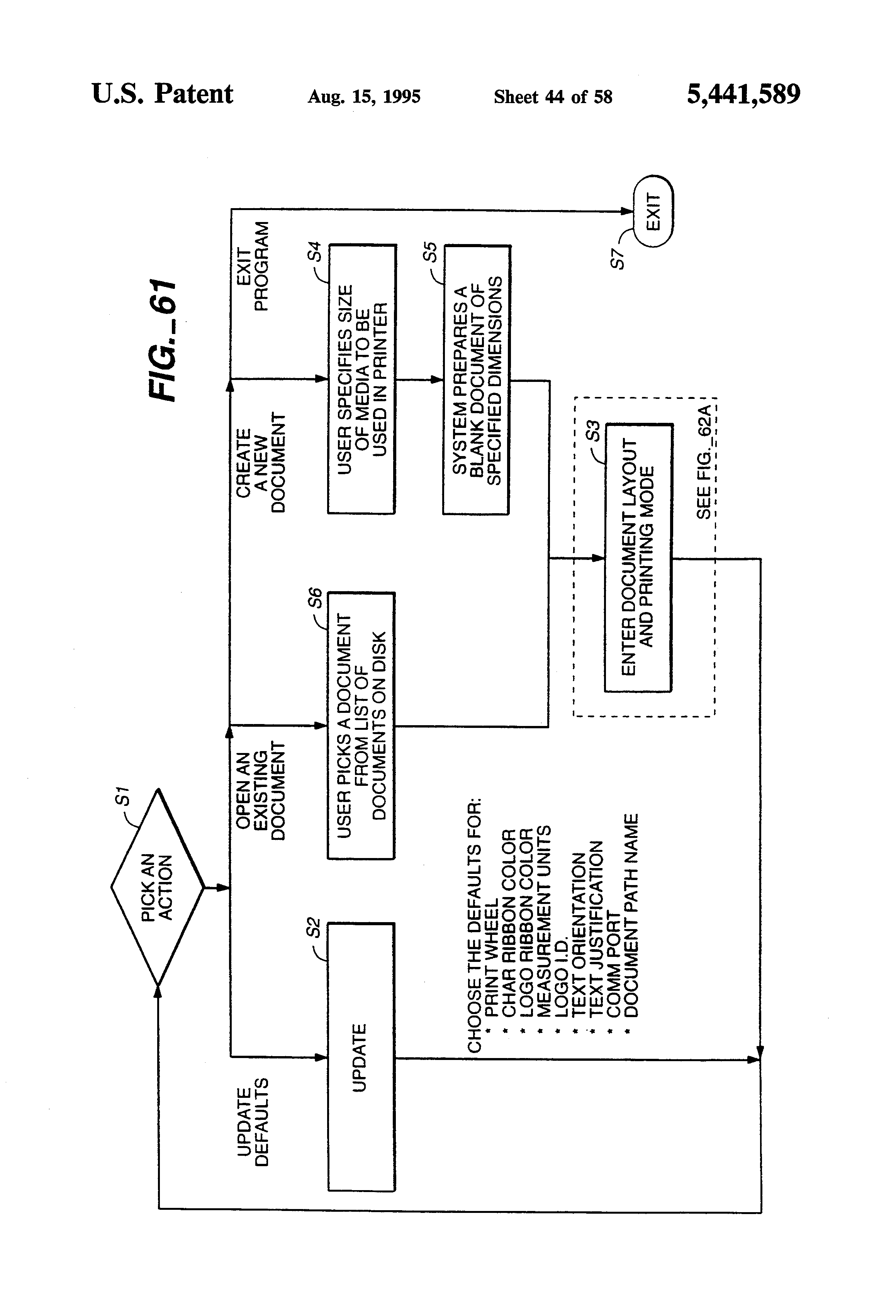 Patent Us5441589 Flat Bed Daisy Wheel Hot Debossing Stamper Array Connected To Port 1 Interrupter 3 Drawing