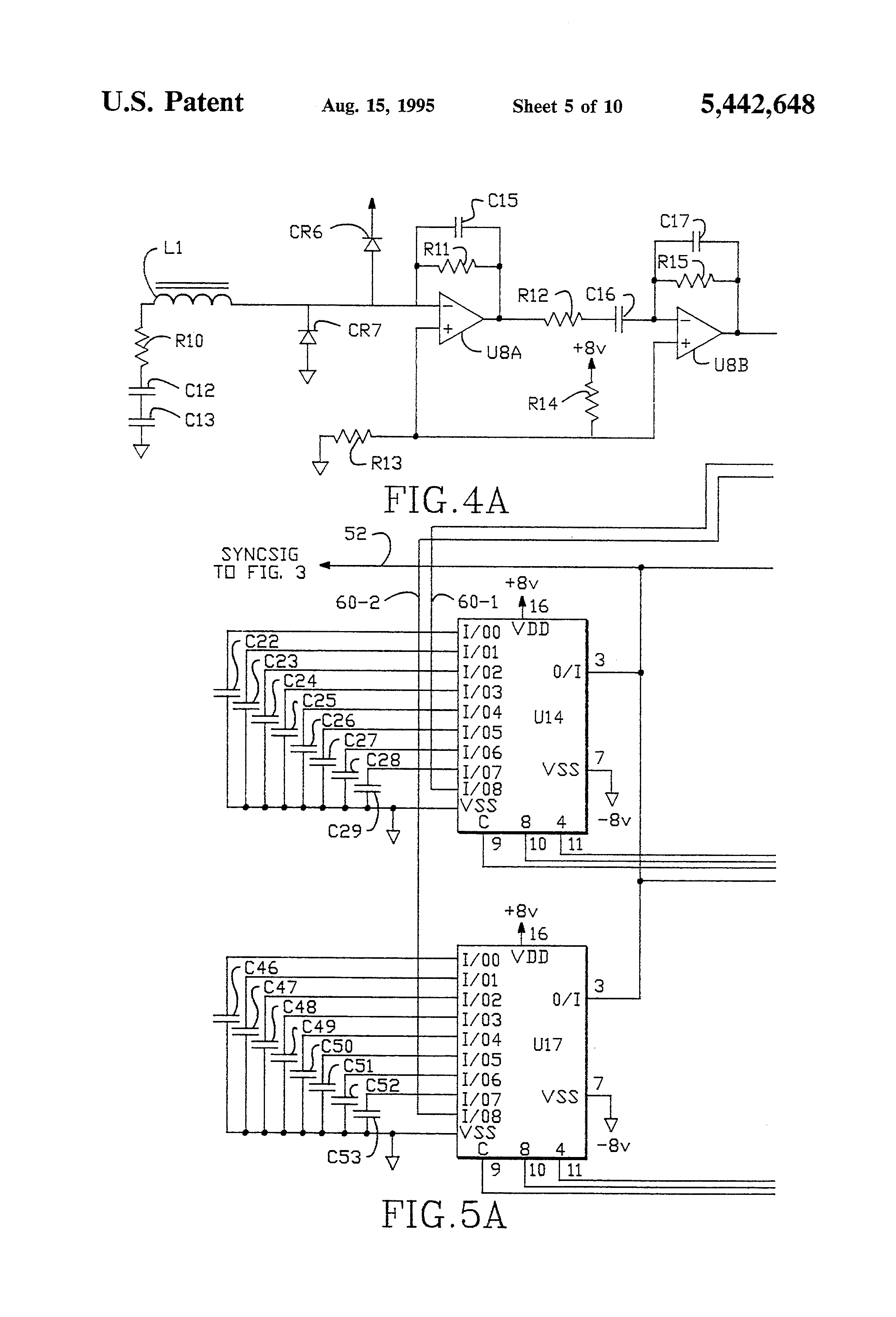 Patent Us5442648 Noise Rejection Circuitry And Laser System Using Heat Pump For Diodes Stabilization Circuit Wiring Diagrams Drawing