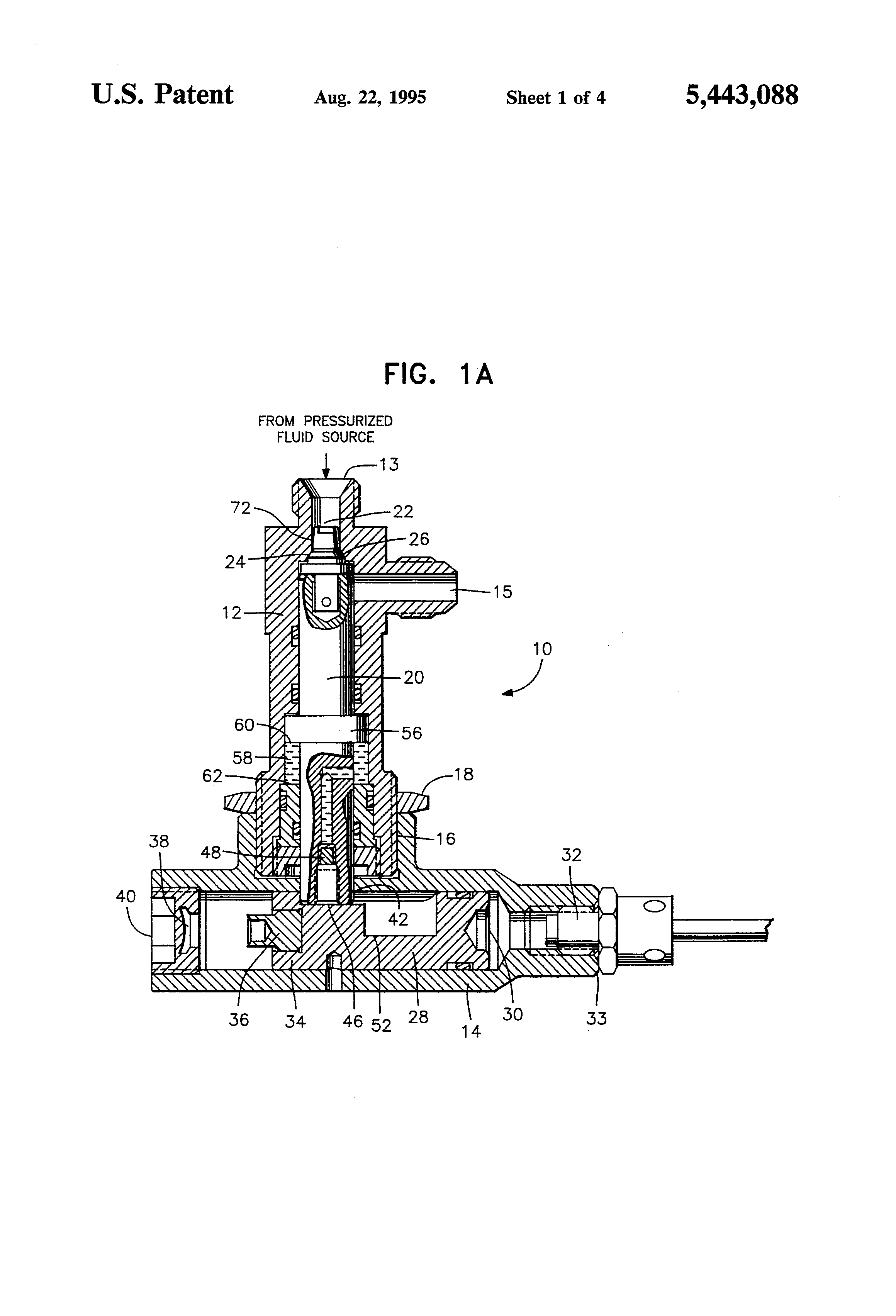 Patent US5443088 - Squib valve - Google Patents