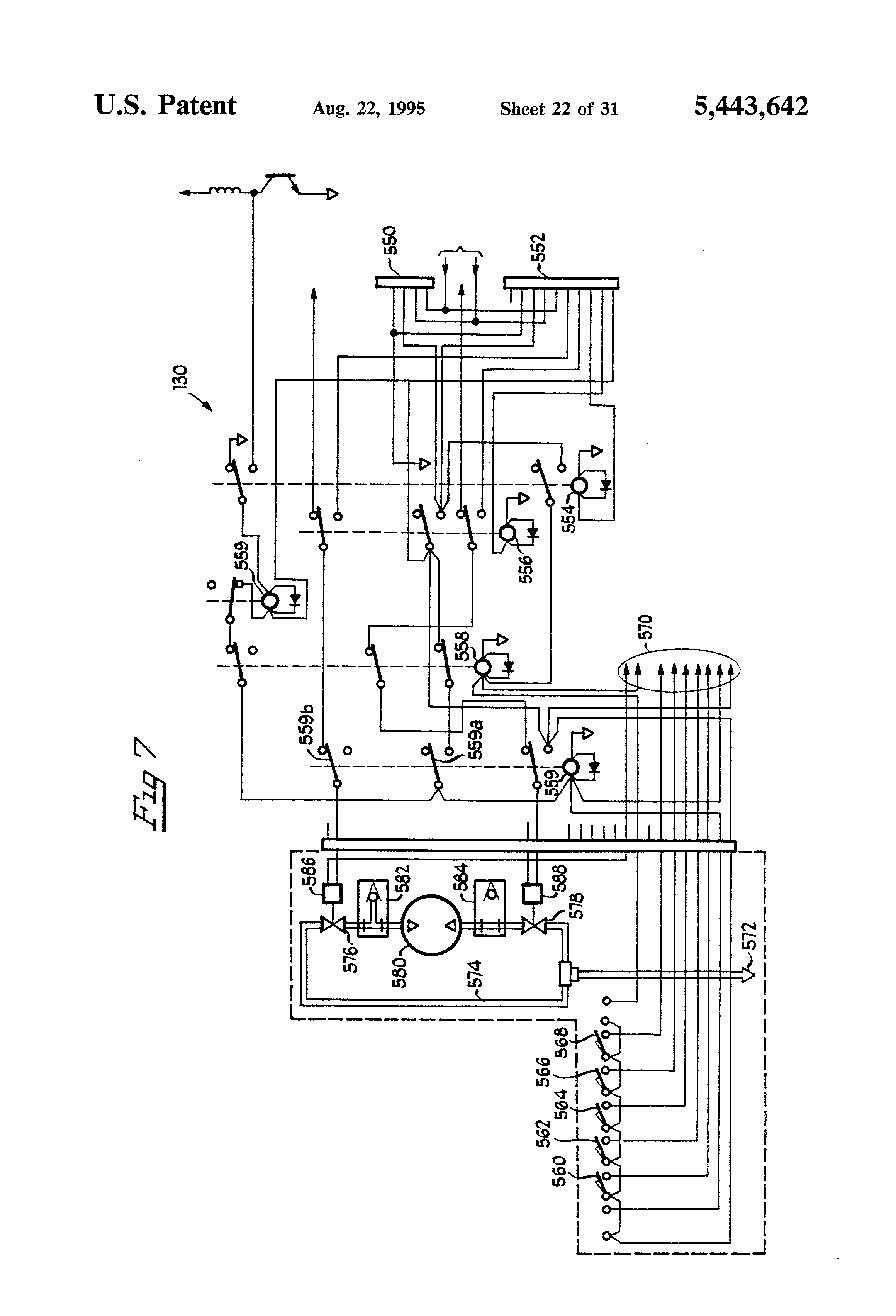 spray booth wiring diagram wiring library Truck Wiring Diagram patent us5443642 apparatus for electrostatic spray painting patent drawing rotary lift wiring diagram