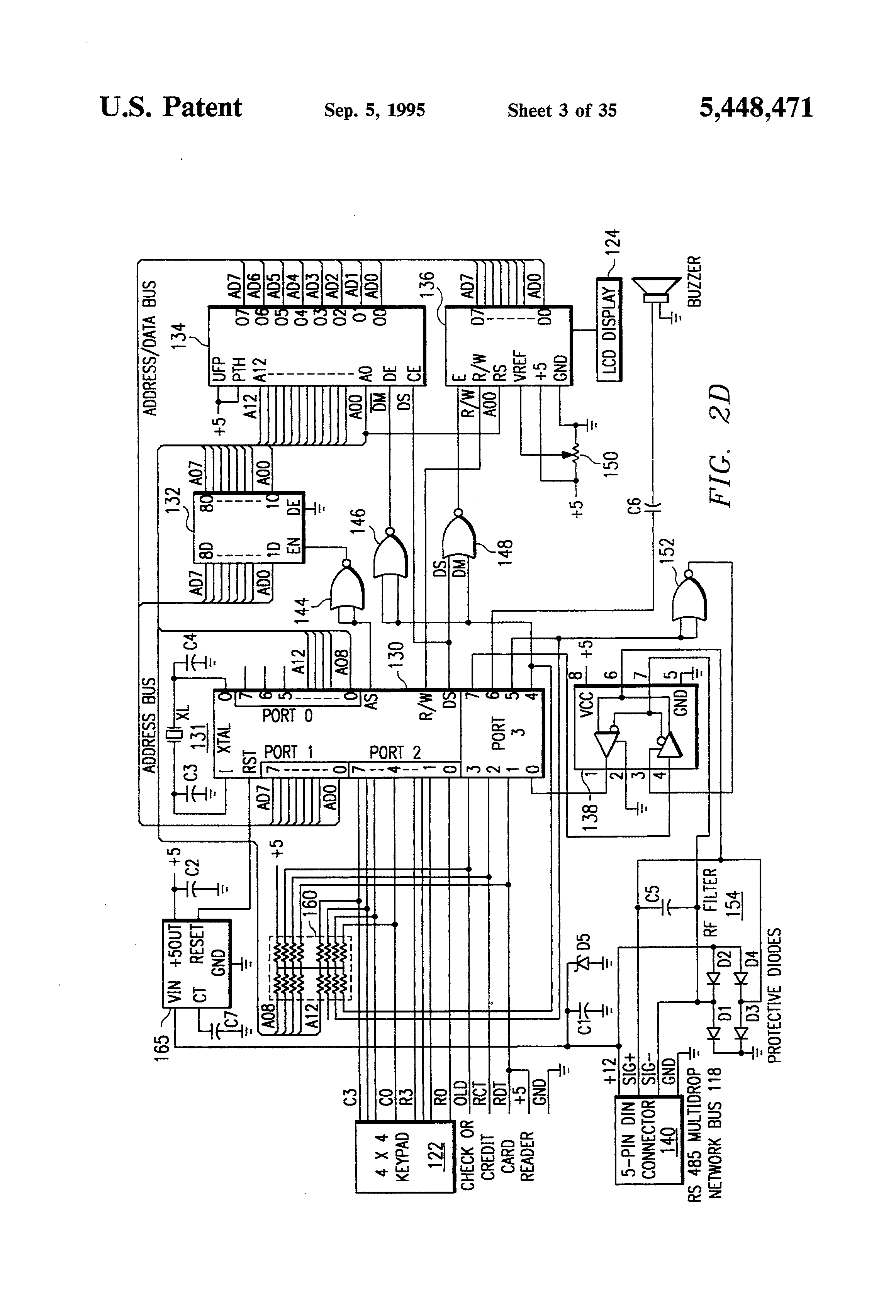 Patent Us5448471 Check Transaction Processing Database Building Four Move Checkmate Diagram Drawing