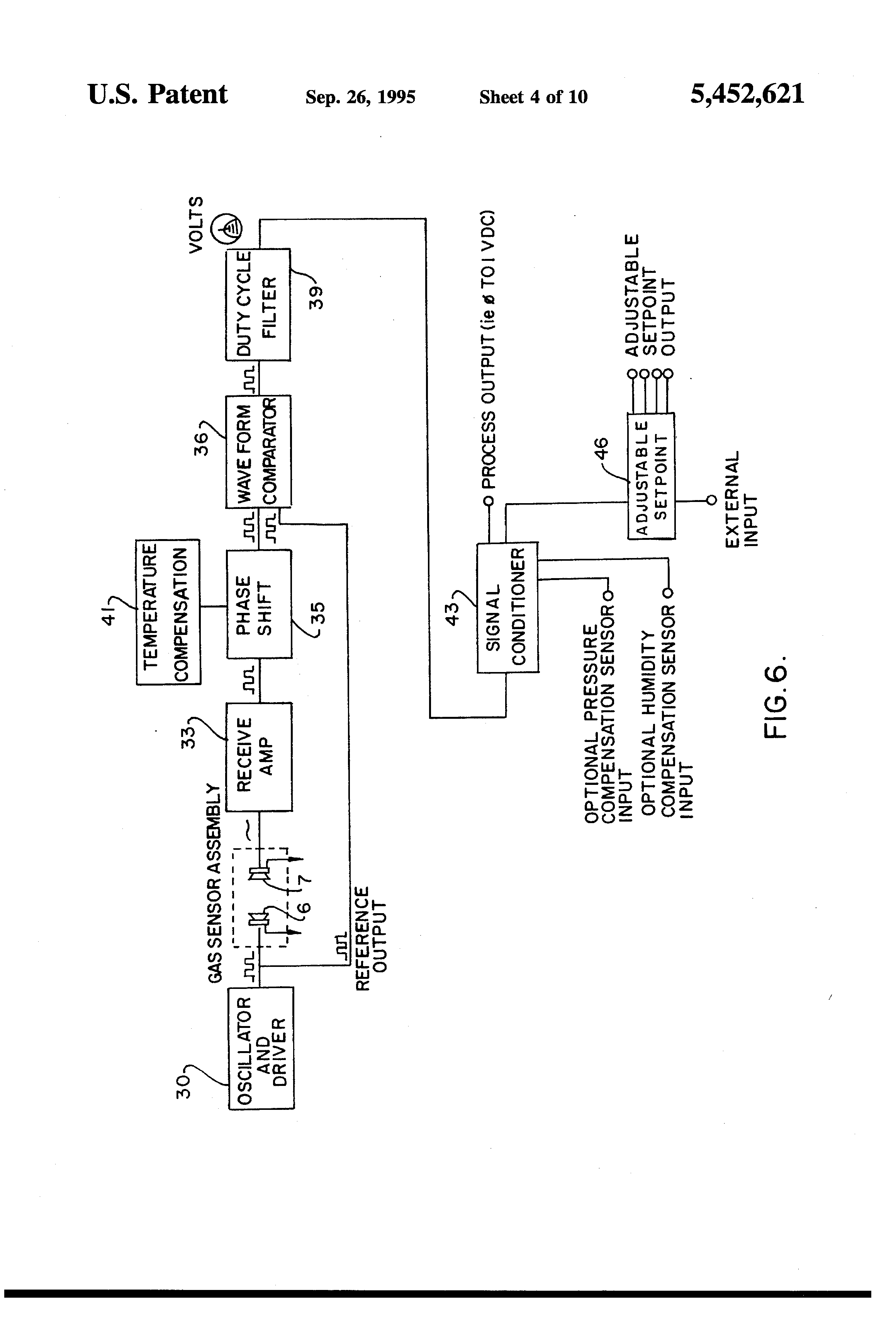 Patent Us5452621 Ultrasonic Gas Measuring Device Incorporating Lm324 Application Circuit Analysis In The Of Directflow Drawing