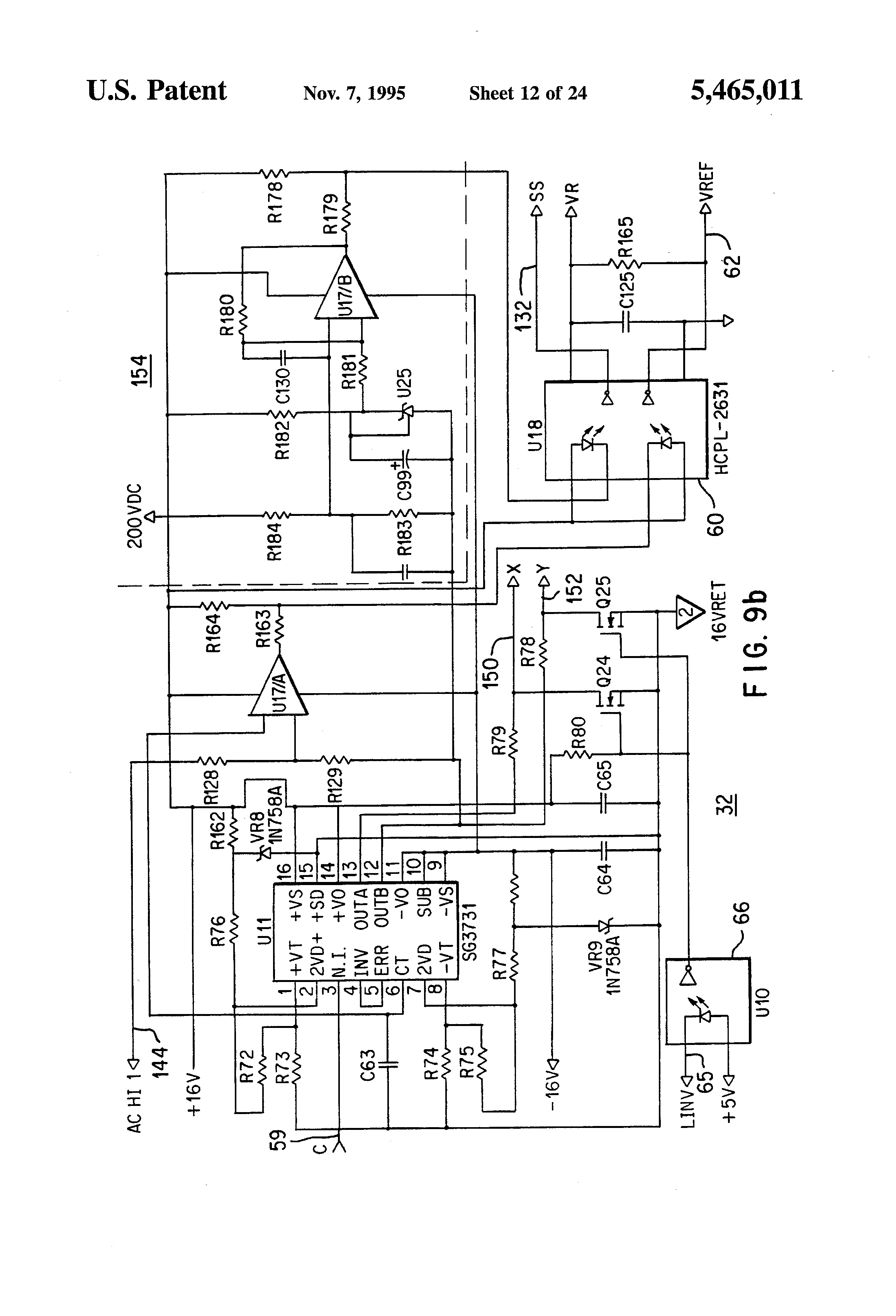 patent us5465011 - uninterruptible power supply with improved output regulation