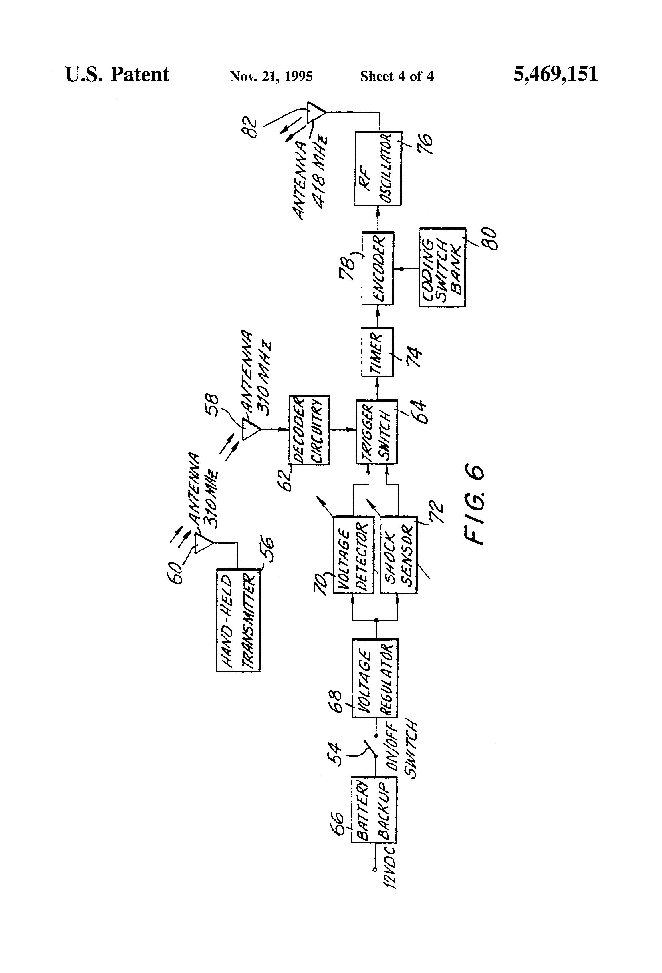 patent us5469151