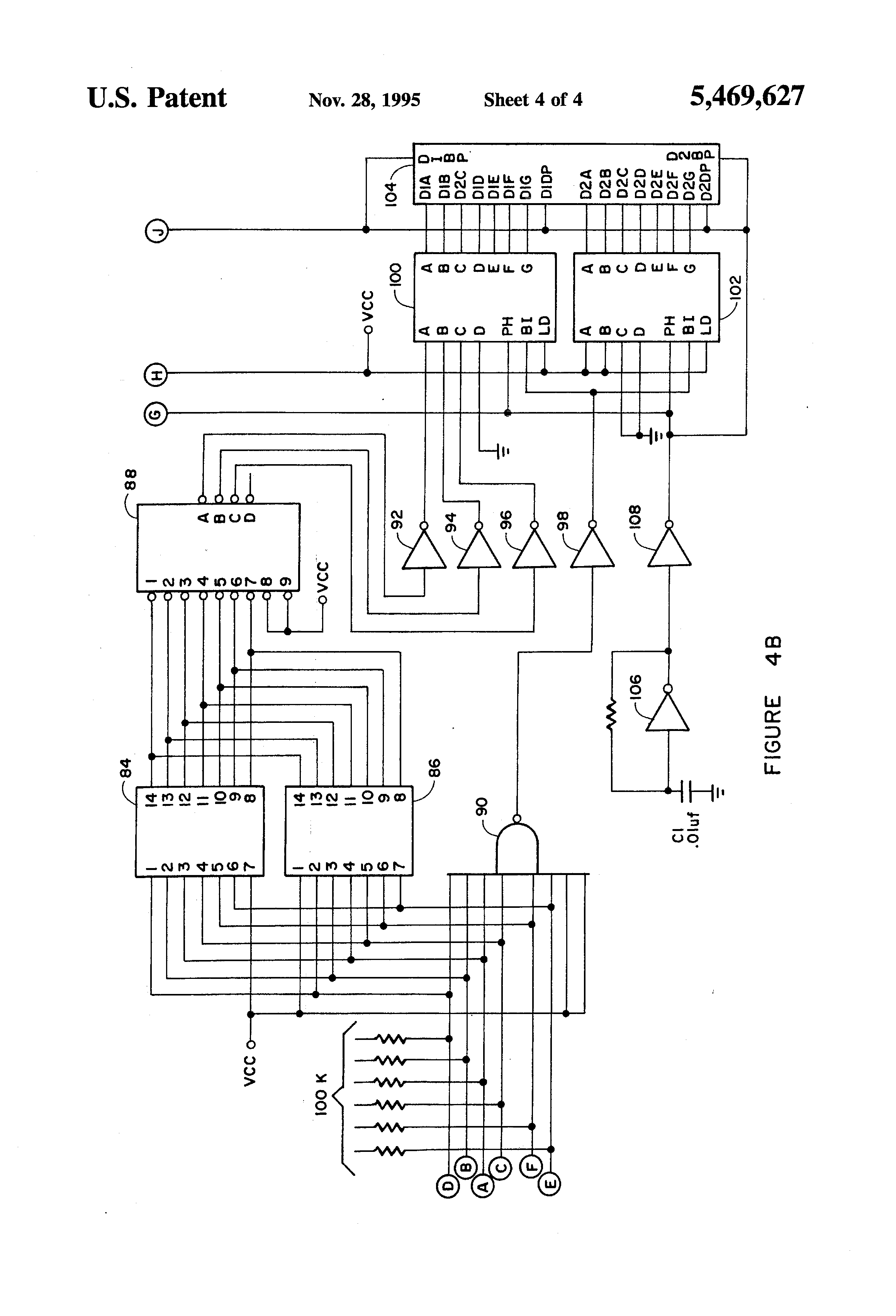 Patent Us5469627 Apparatus For Fitting A Golf Club To Player 74hc147 Circuits Wiring Diagram Drawing