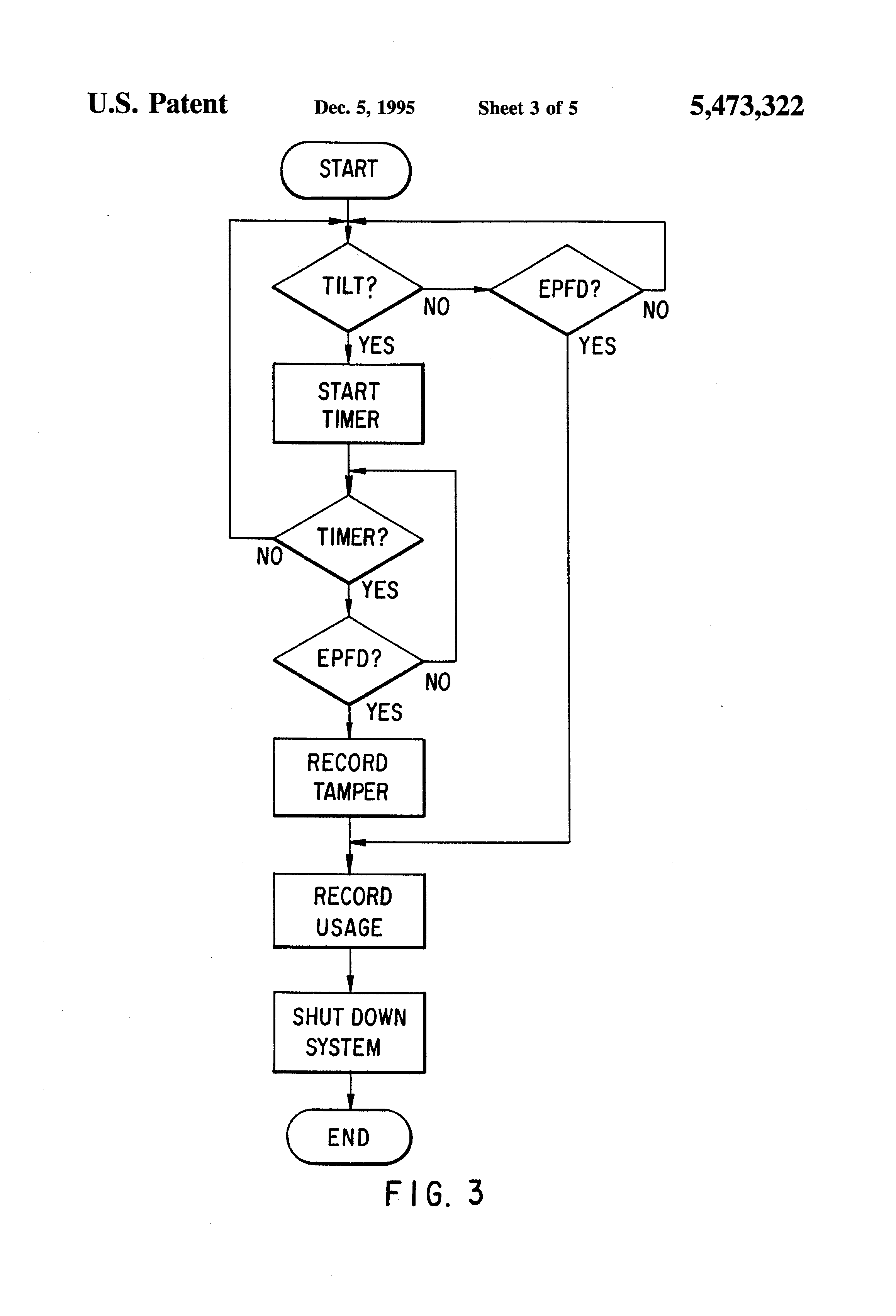 Patent Us5473322 Apparatus And Method For Sensing Tampering With A Tamper Wiring Diagram Drawing