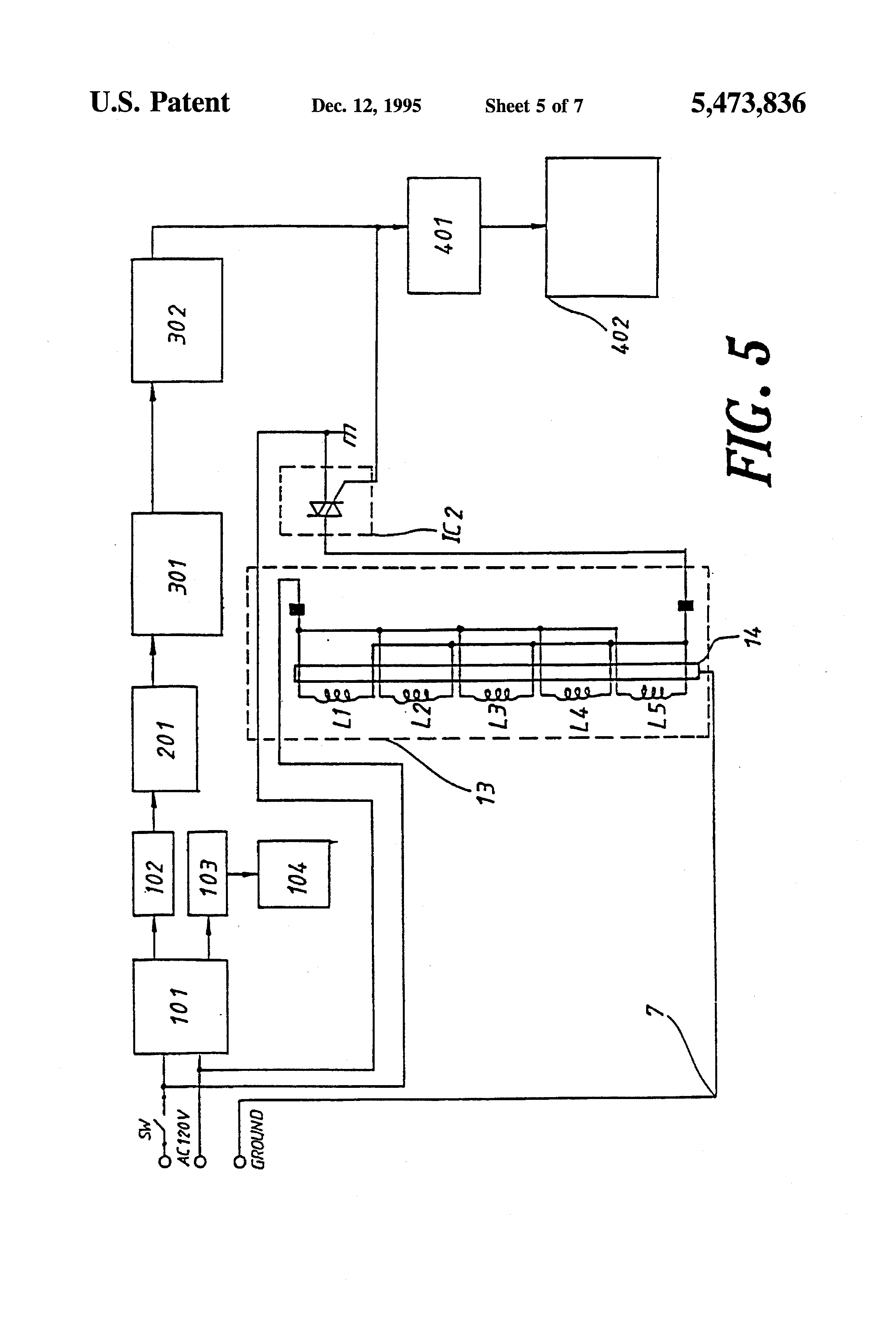 Patent Us5473836 Pest And Insect Expeller Of An Electromagnetic Make This Electronic Mosquito Repeller Circuit Diagram Drawing
