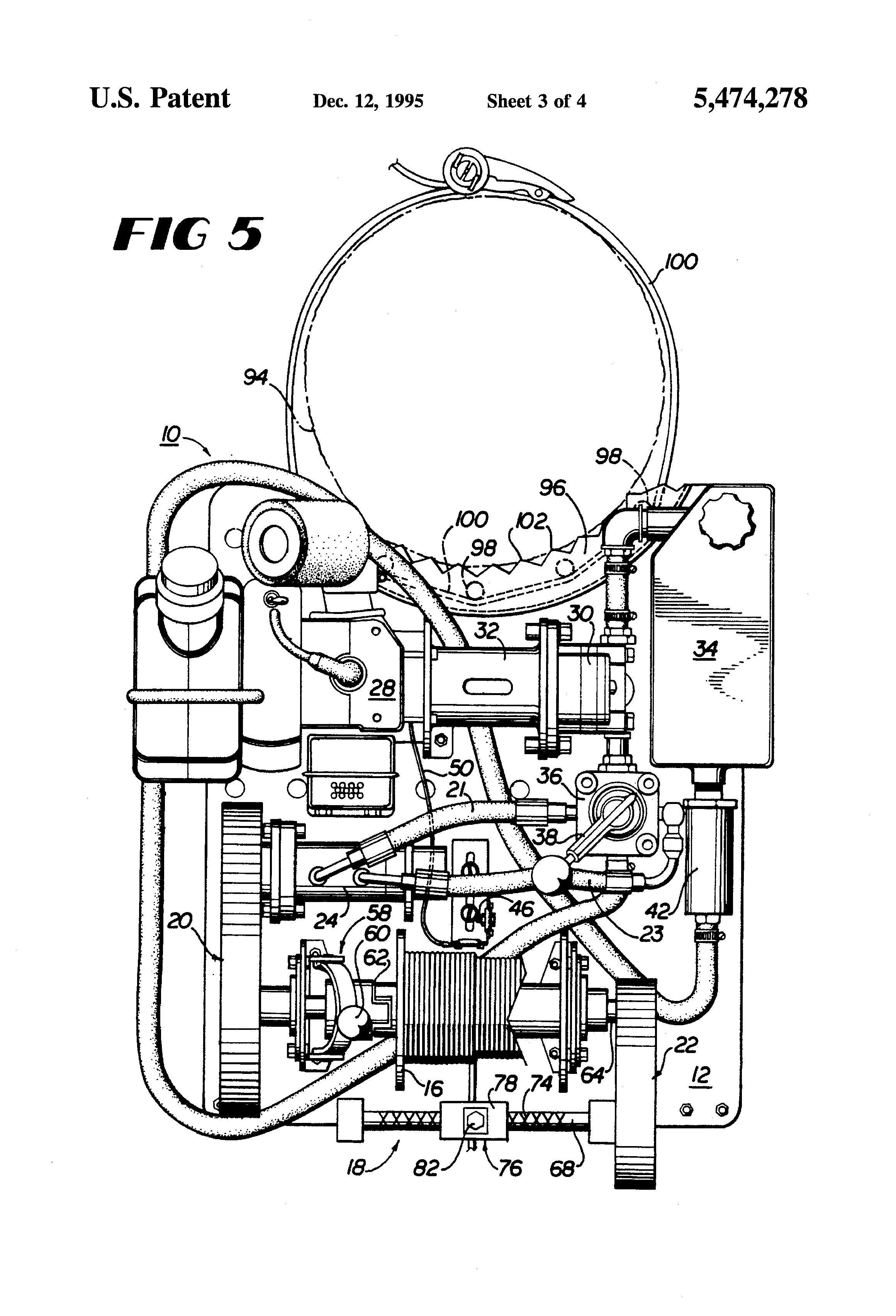 patent us5474278