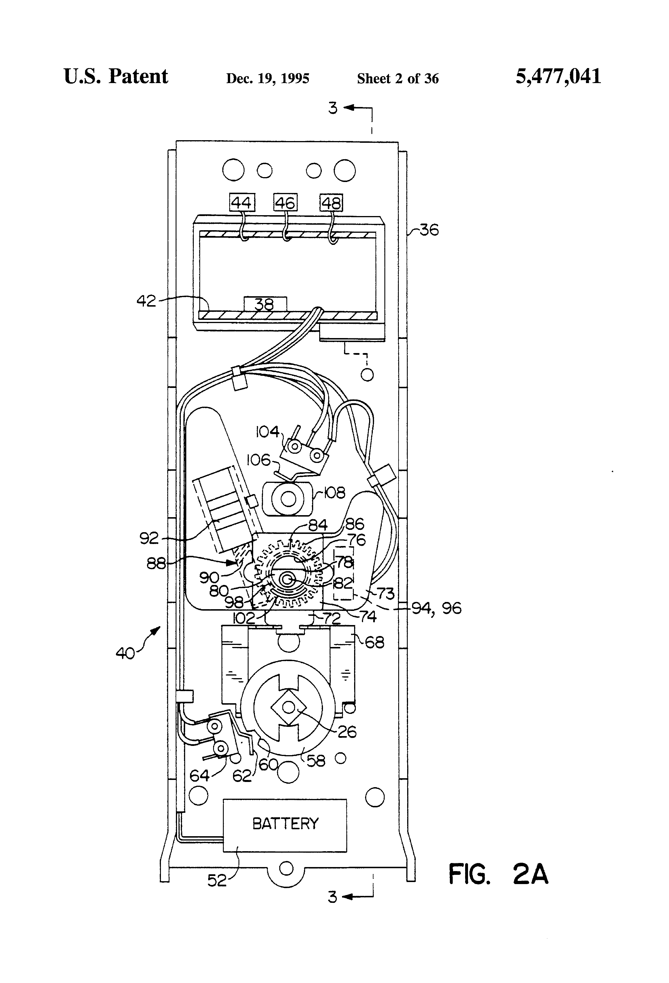 Patent Us5477041 Adaptable Electronic Key And Lock System Google Secret Code Circuit Amplifiercircuit Diagram Drawing