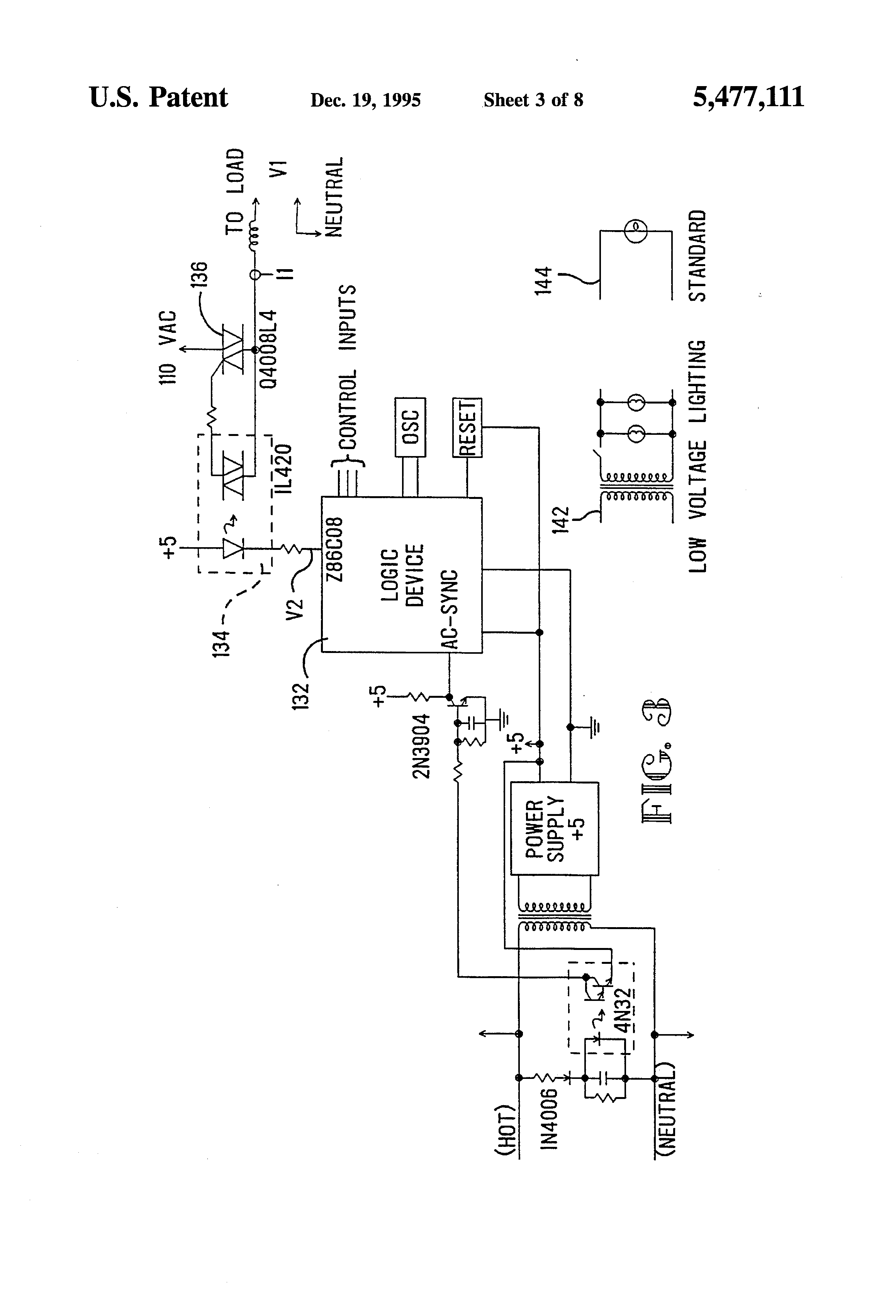 patent us5477111