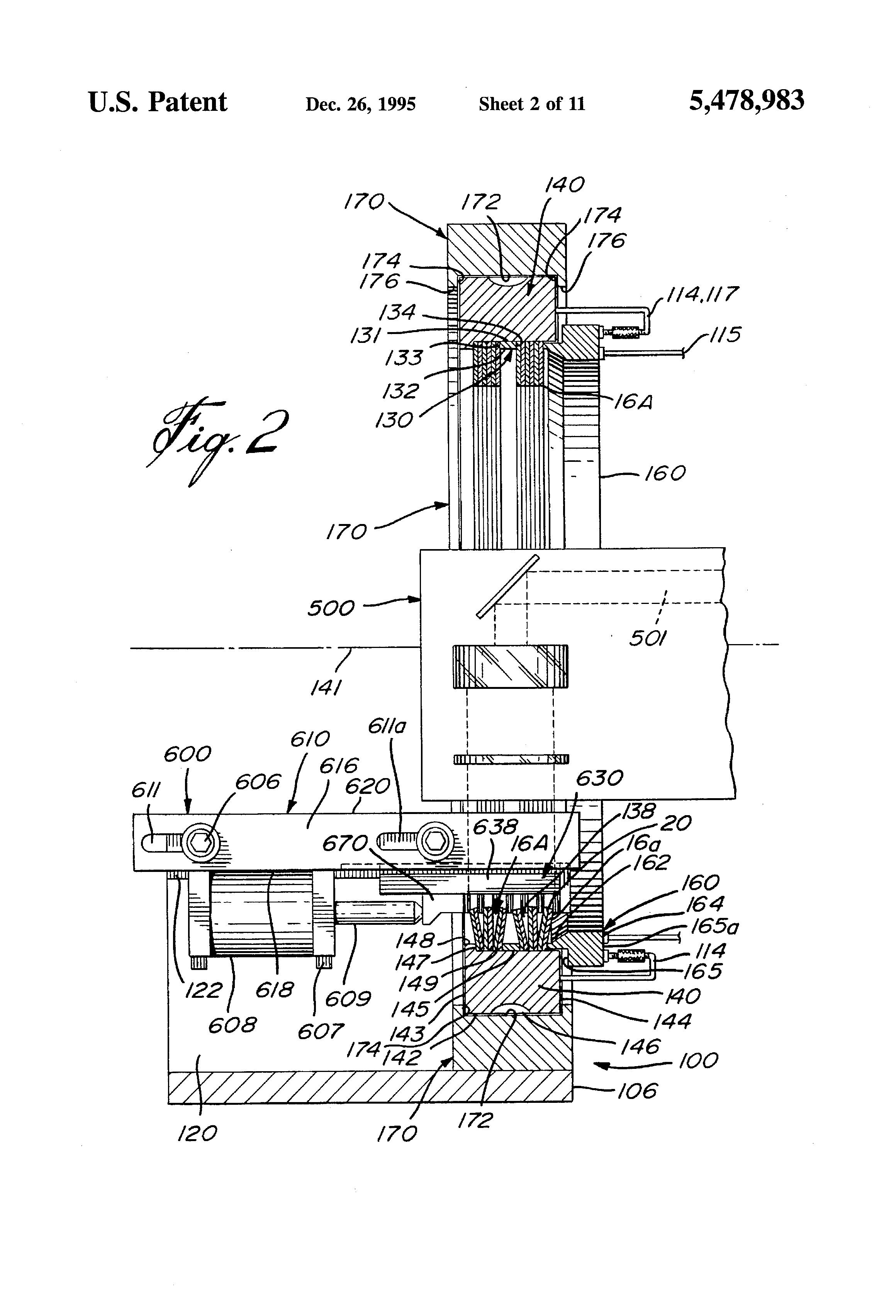 patent us5478983