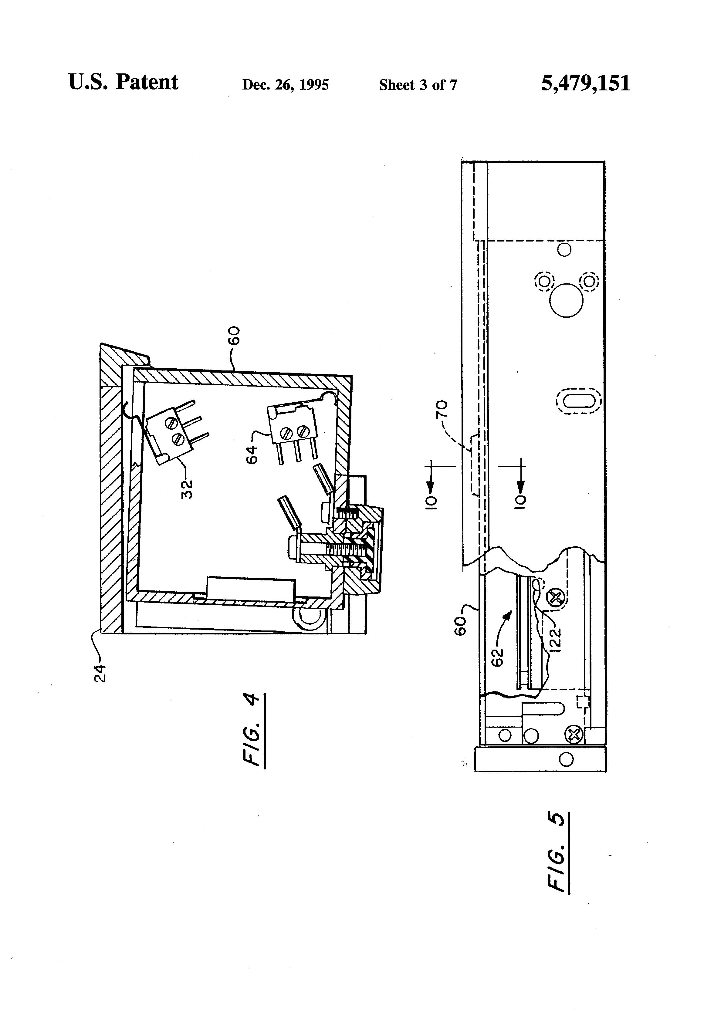 Patent Us5479151 Electromagnetic Door Lock With On Board Locknetics Maglock Wiring Diagram Drawing