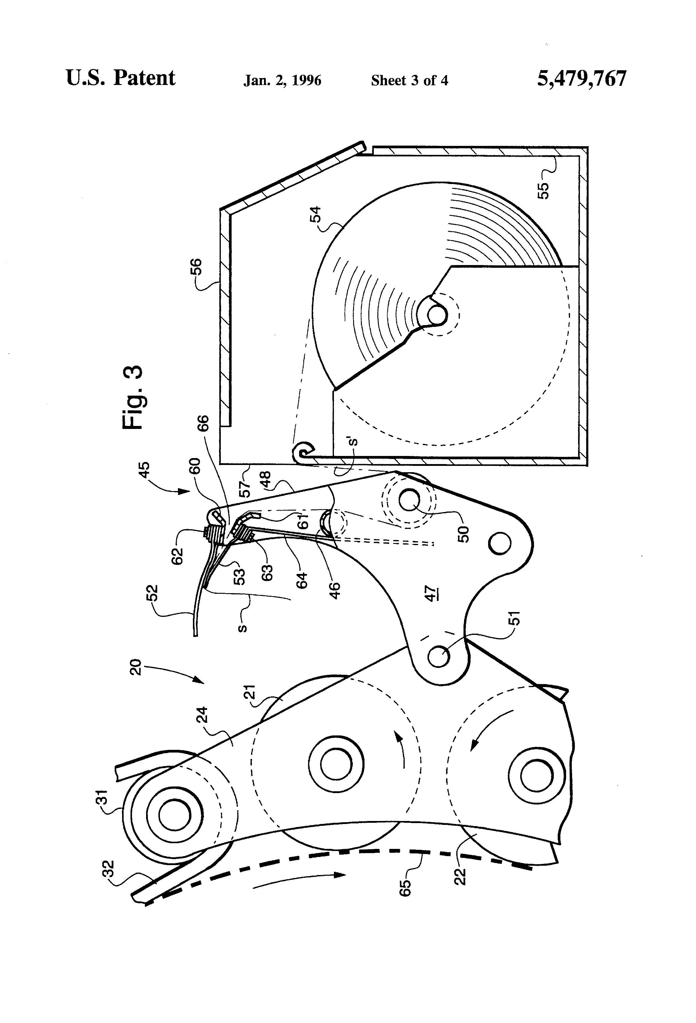 Patent US5479767 - Trash baffle for round baler - Google Patents