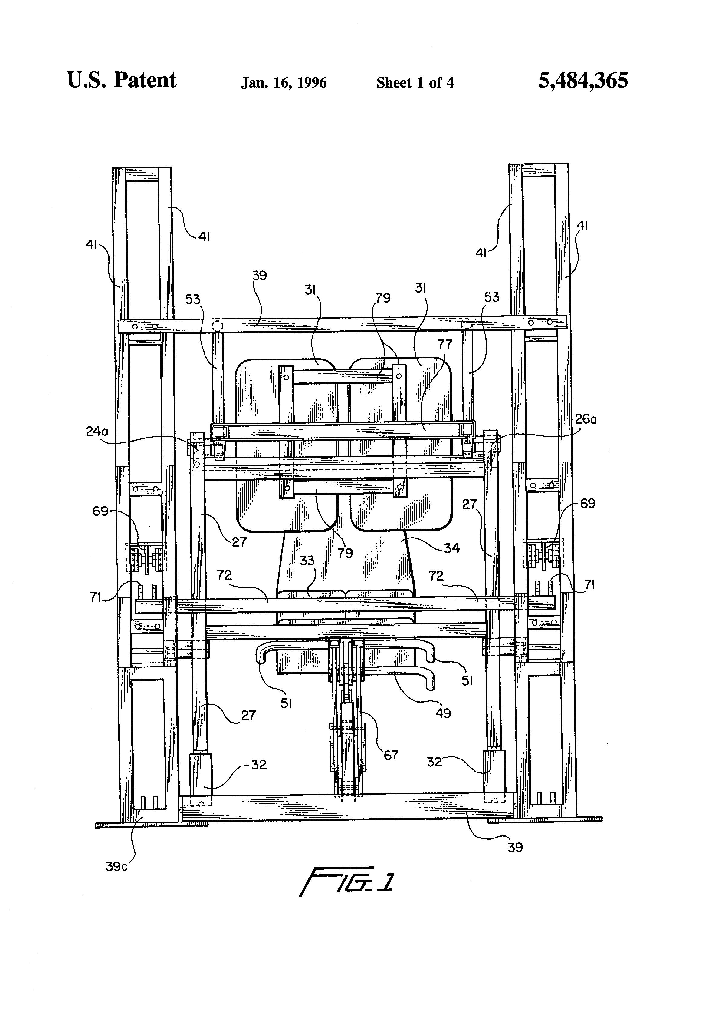 Patent US5484365 - Leg press exercise machine - Google Patents