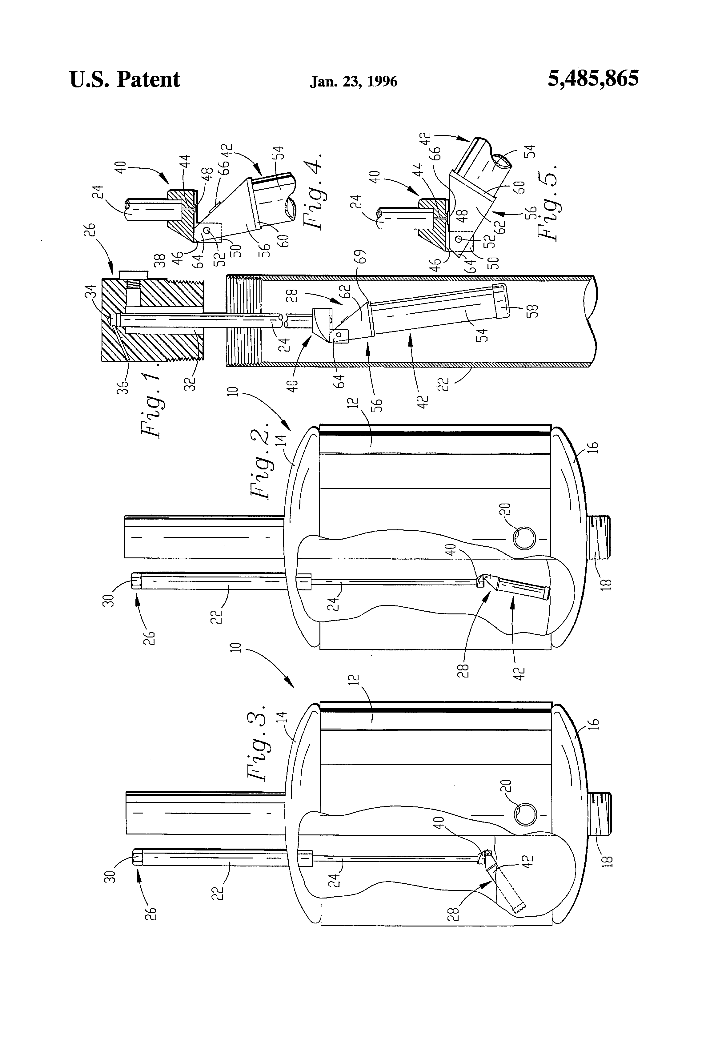 Patent Us5485865 Air Volume Control Valve For Water