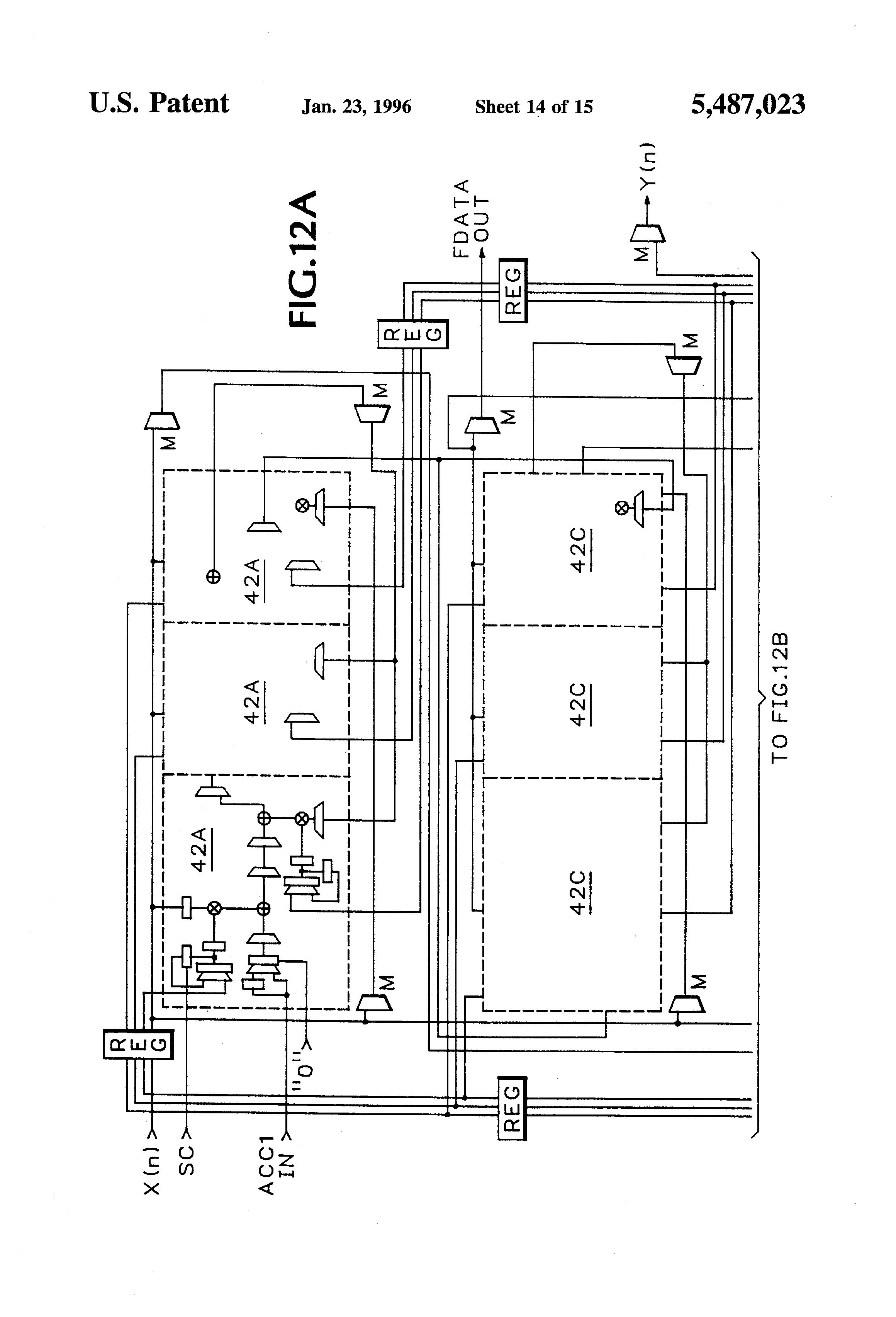 patent us5487023