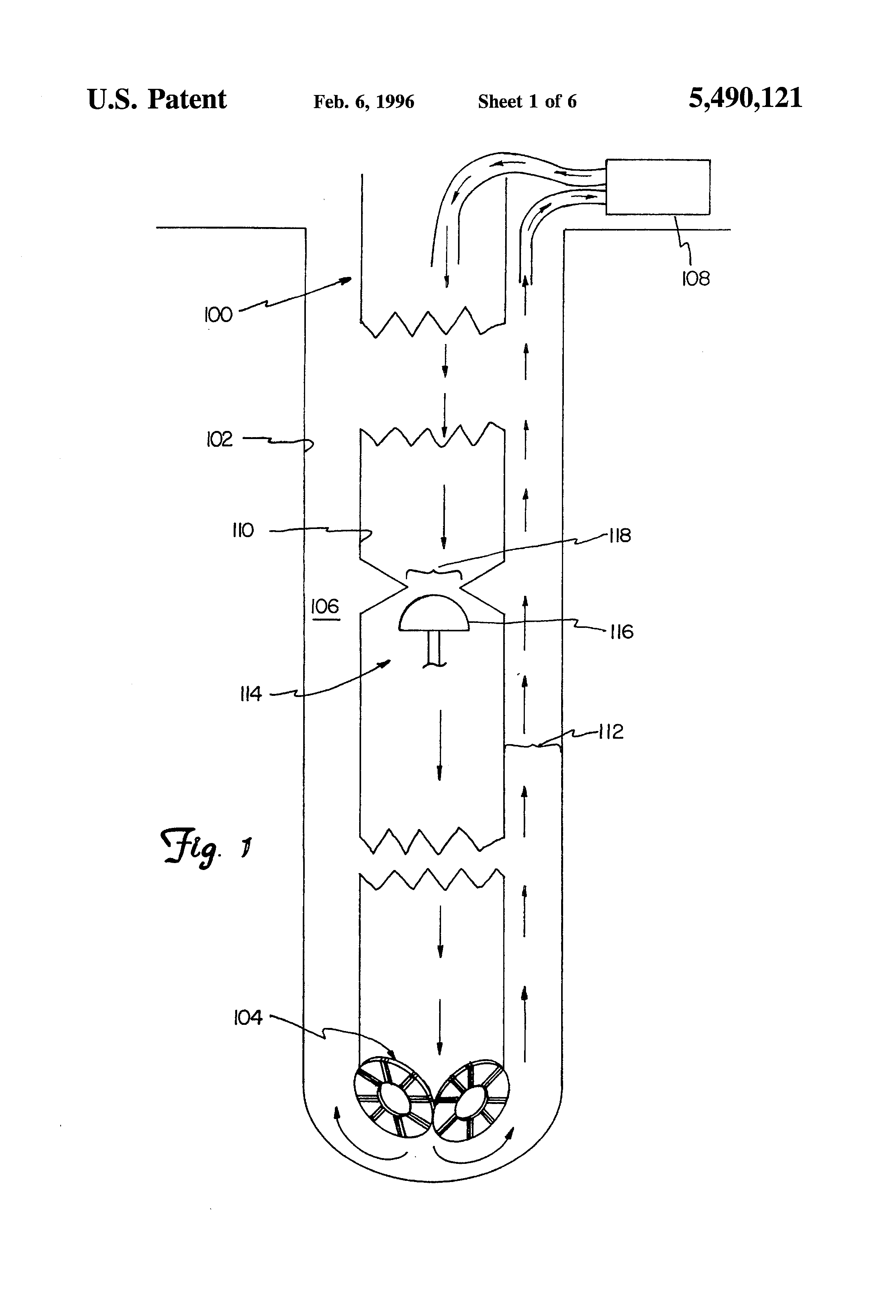 Patent Us5490121 Nonlinear Equalizer For Measurement While Telemetry Block Diagram Of Dsp Based Drawing