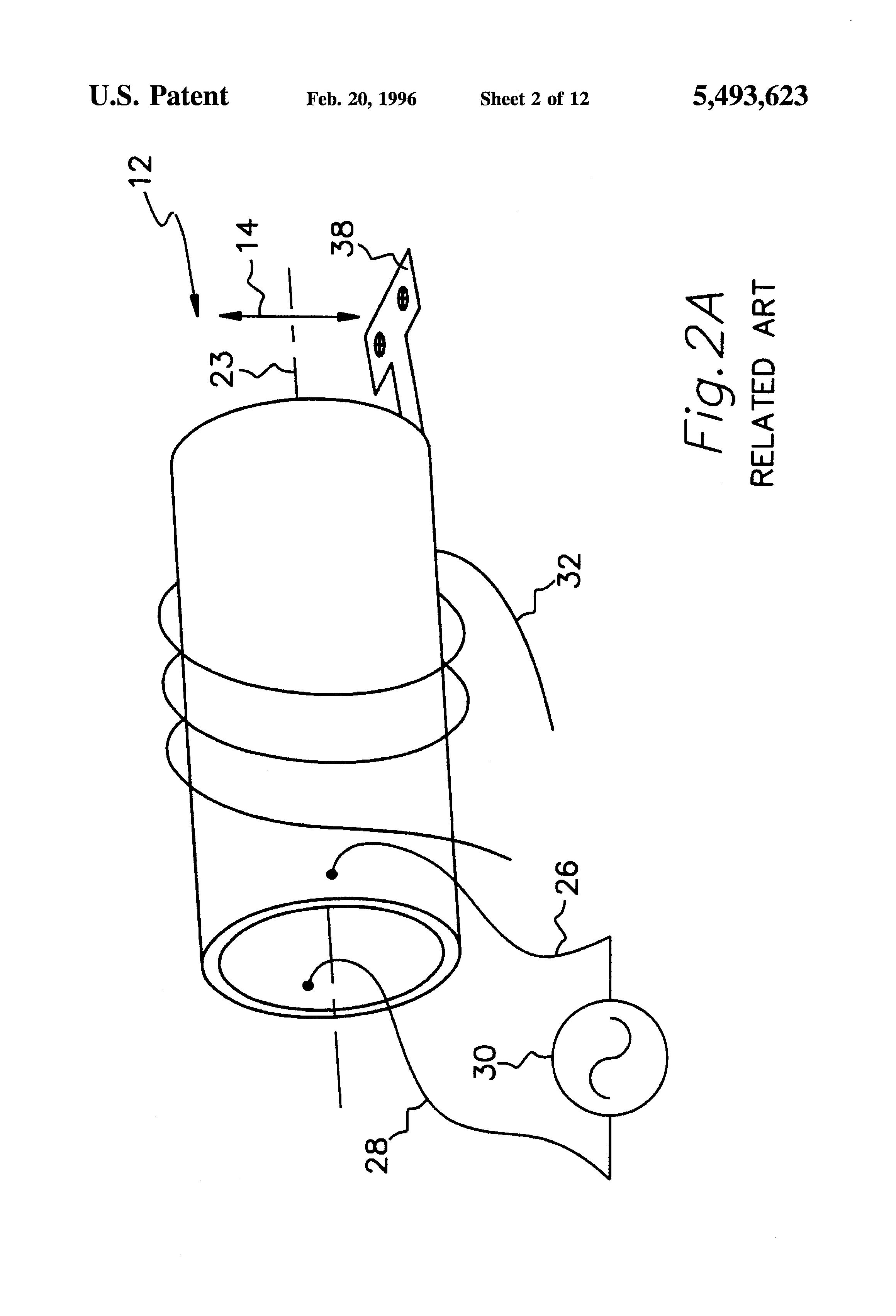 patent us5493623