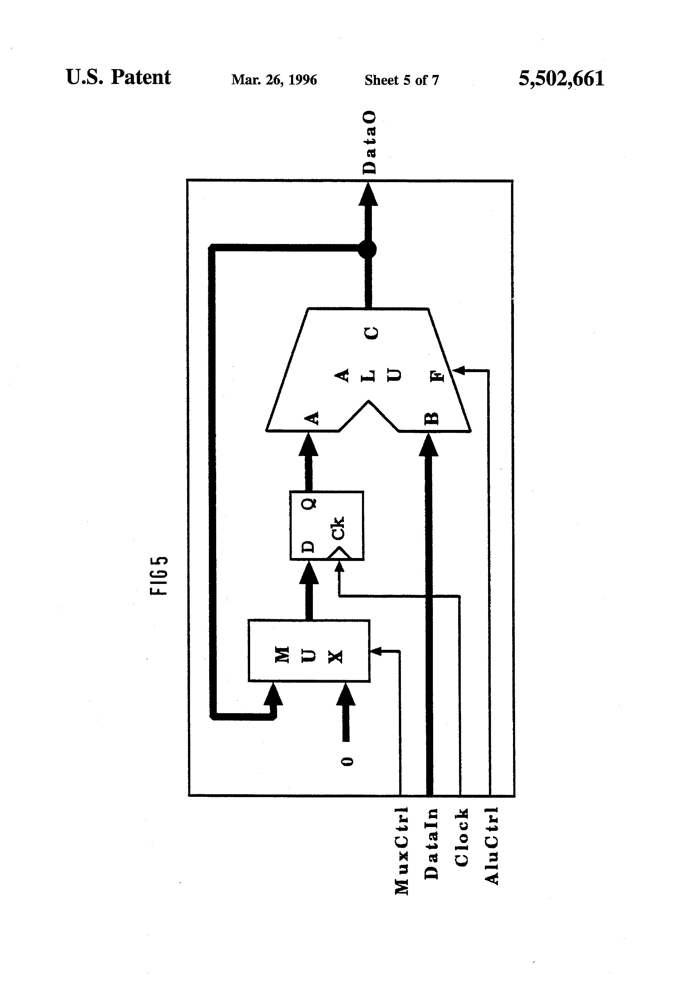 patent us5502661
