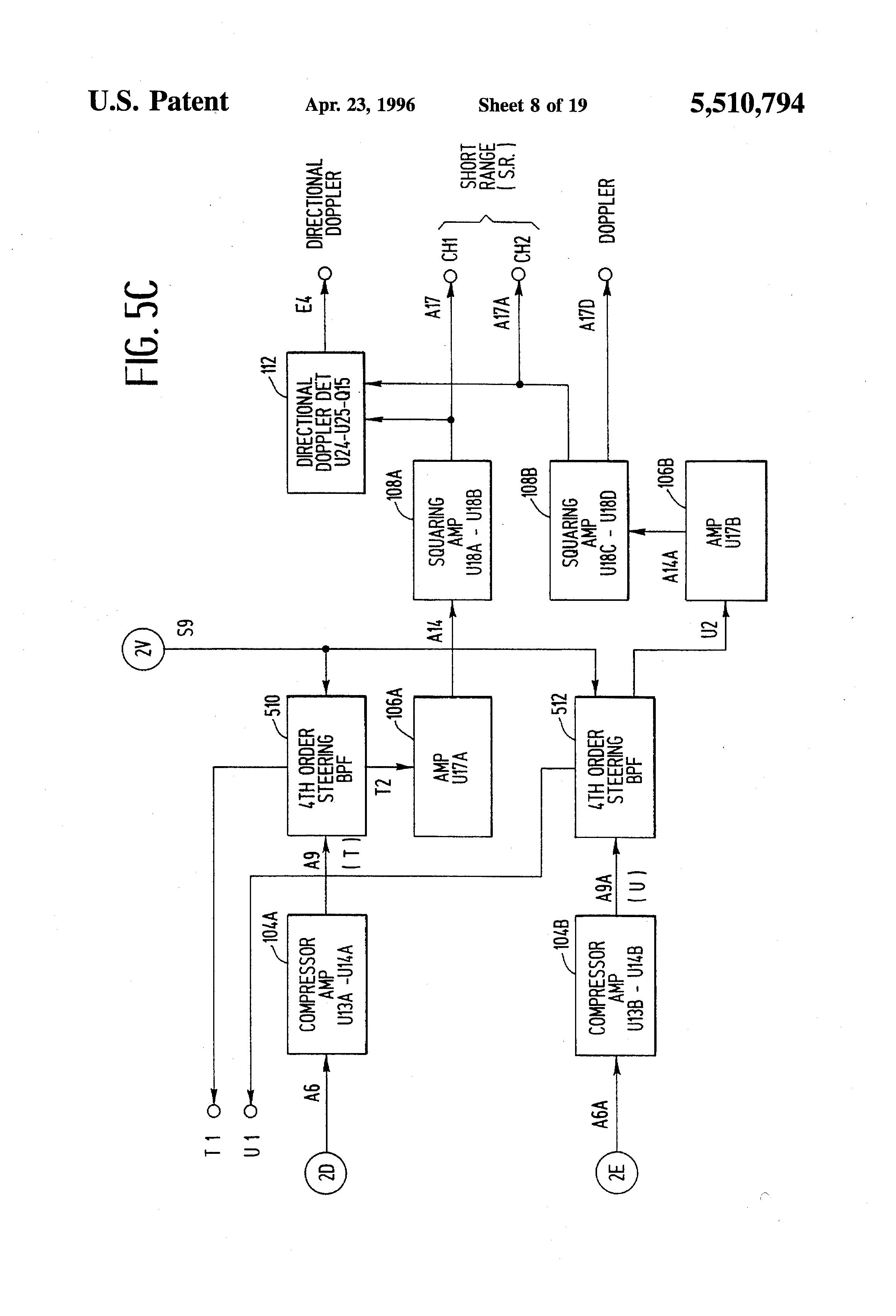 Stabilized Lowfrequency Oscillator Circuit Diagram Tradeoficcom Voltage Controlled Patent Us5510794 Vehicular Radar Wayside Transponder System