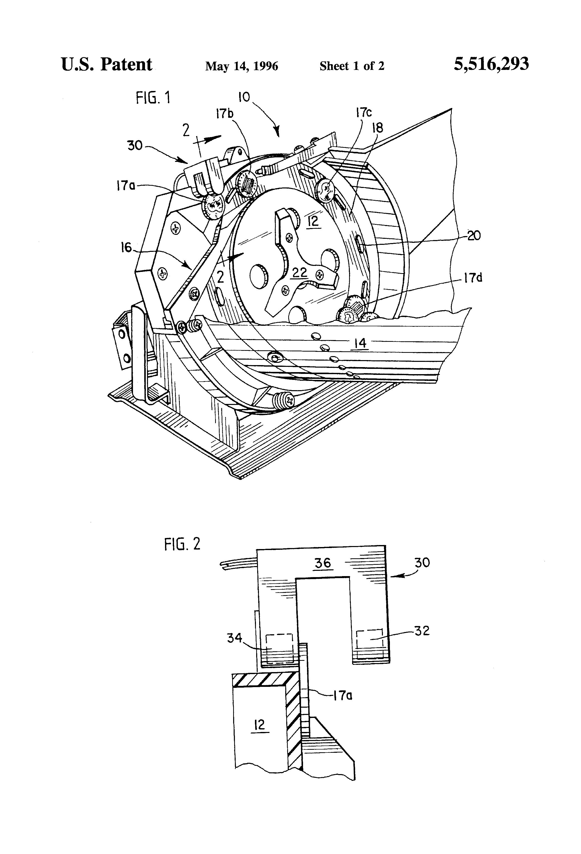 patent us5516293