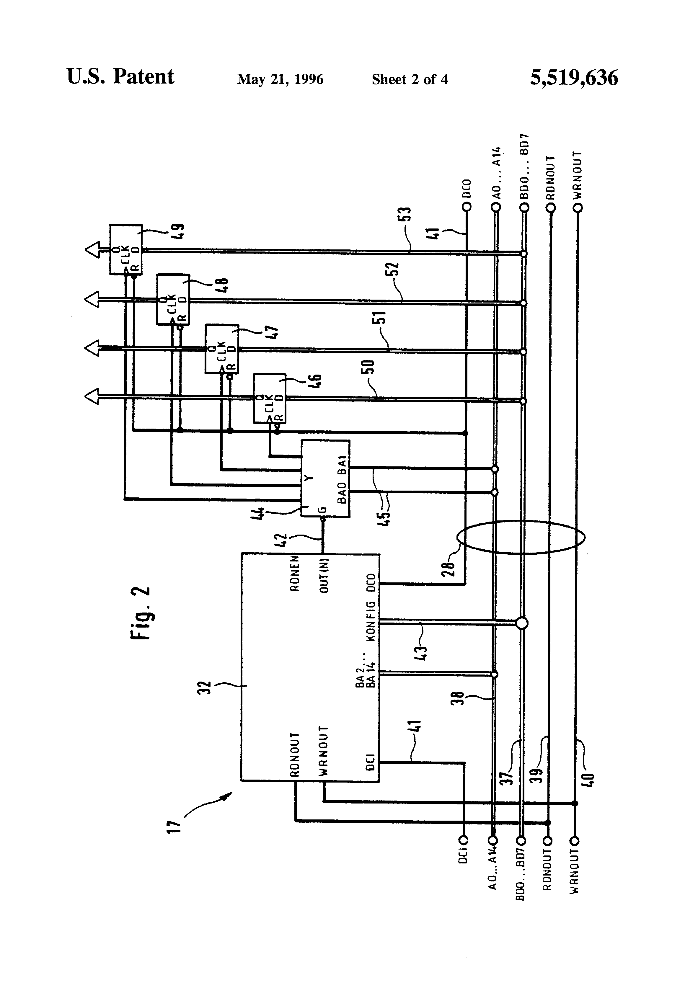 Patent Us5519636 Electronic Control Device For A Valve Range Of Smc Manifold Wiring Diagram Drawing