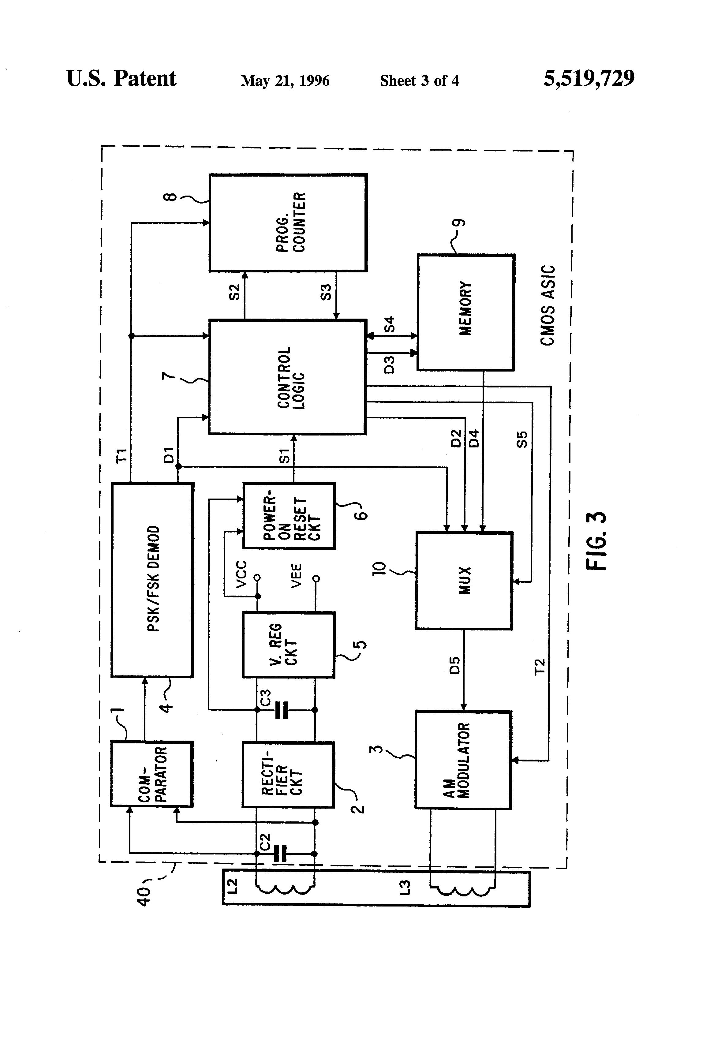 patent us5519729