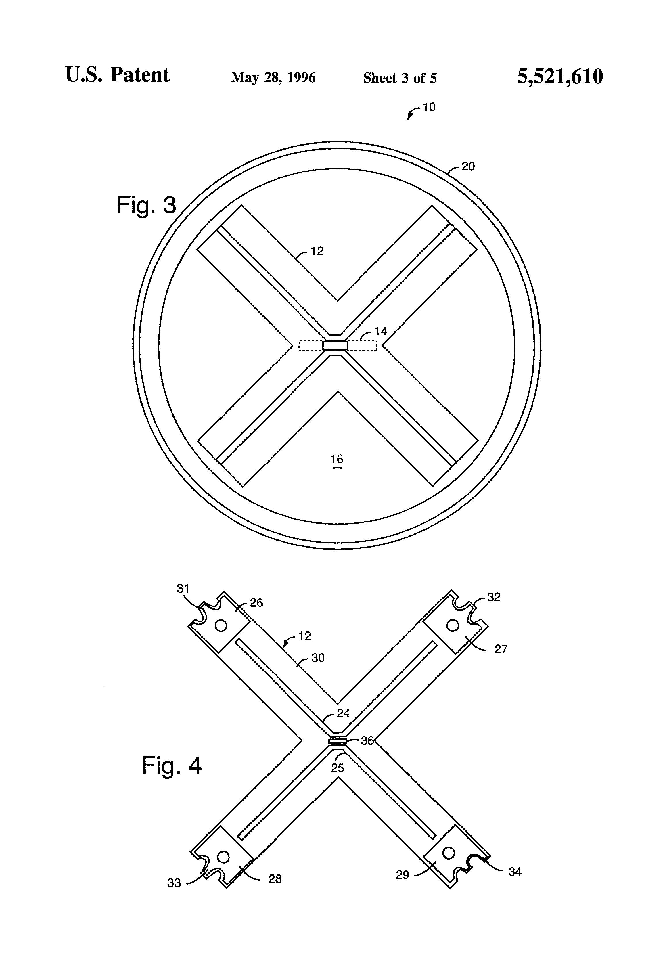patent us5521610