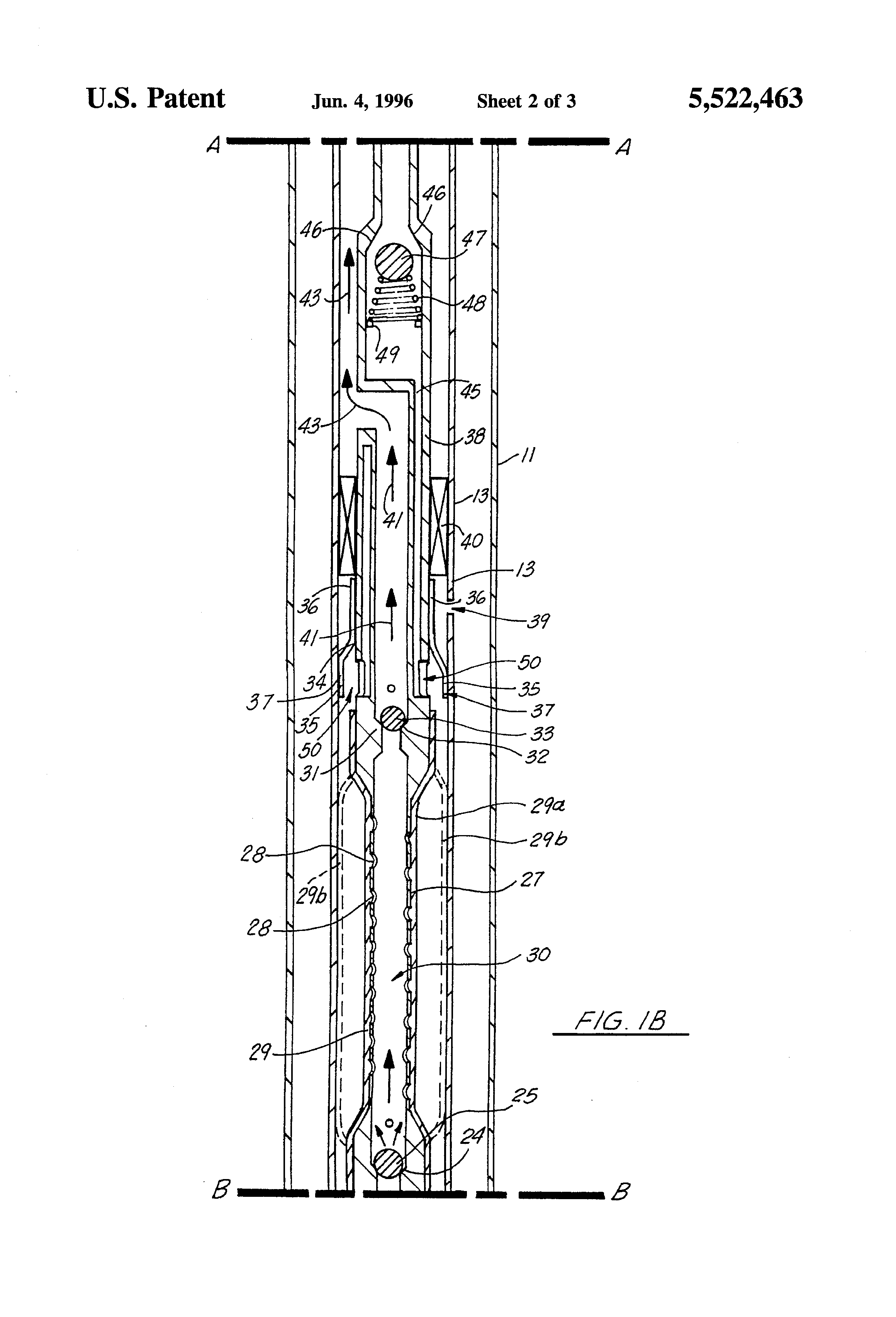 Patent Us5522463 Downhole Oil Well Pump Apparatus