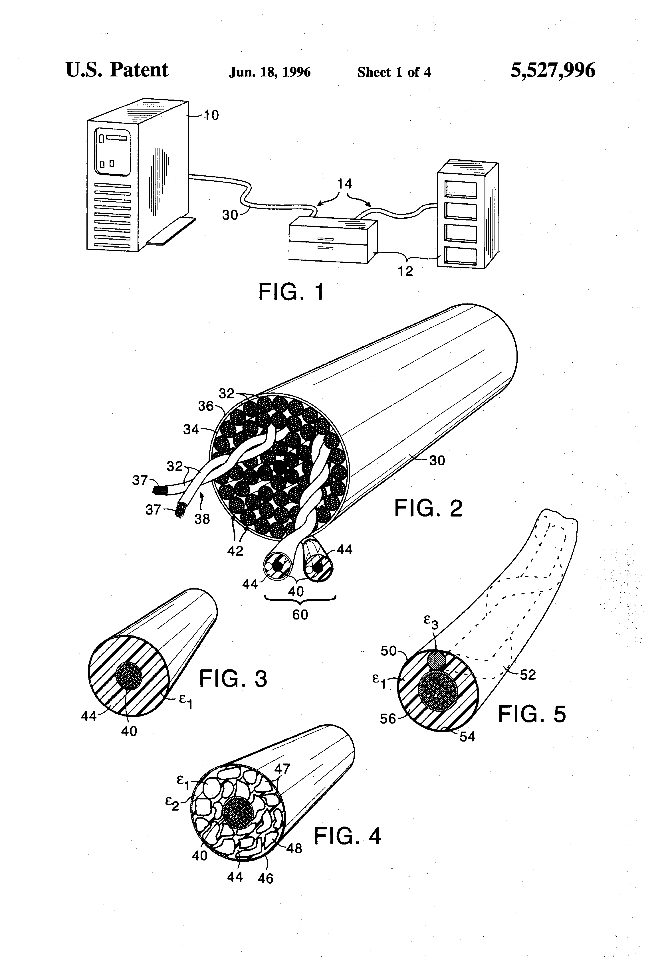 Patent Us5527996 Apparatus For Increasing Scsi Bus Length By Wiring Diagram Drawing