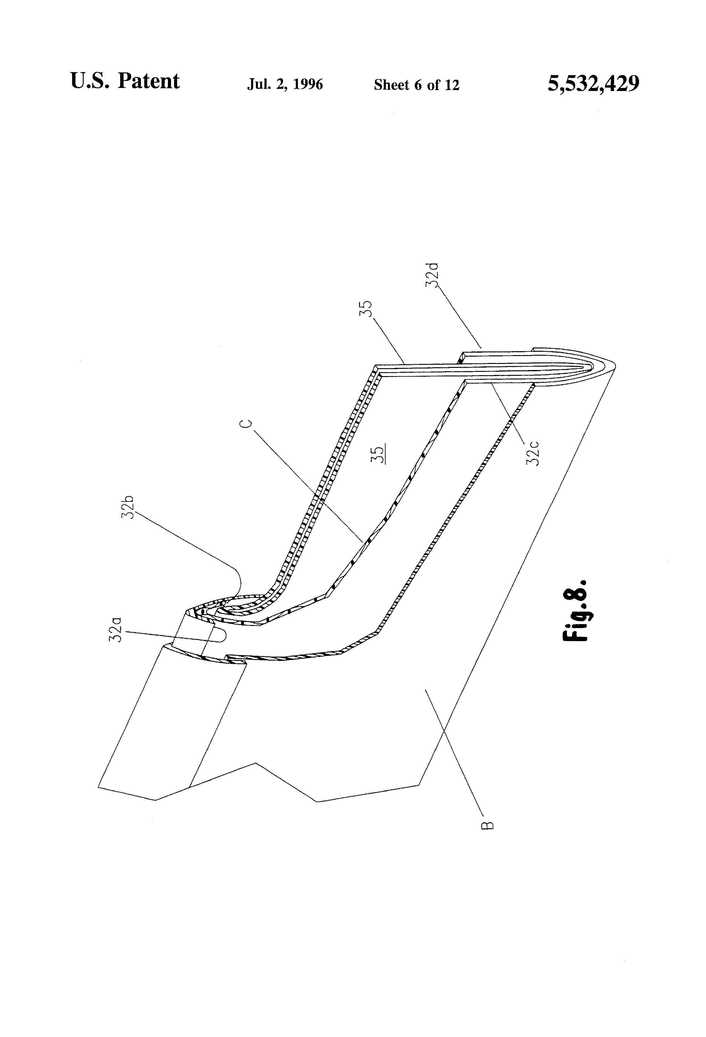 patente us5532429