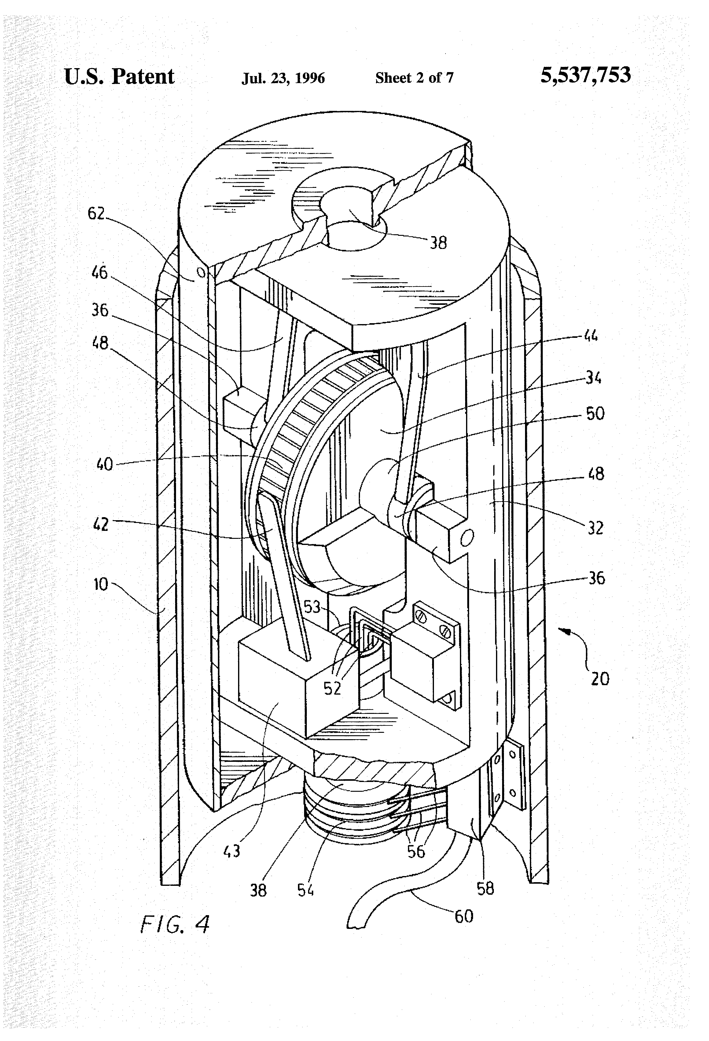 Patent Us5537753 Bore Hole Inclinometer Apparatus Google Patents Wiring Diagram Drawing